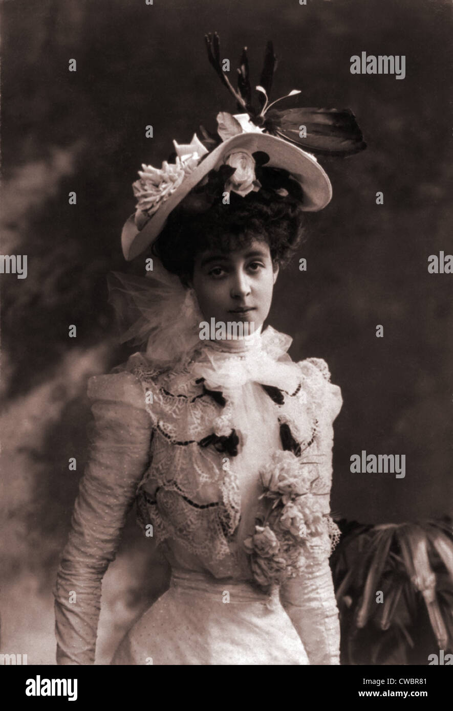 Consuelo Vanderbilt (1877-1964), as a young women, when she entered into a loveless arranged marriage with the Charles - Stock Image