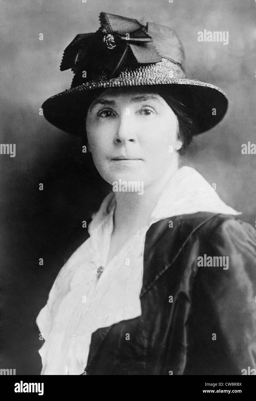 Matilda Gardner, one of the original core of activists who worked with Alice Paul and Lucy Burns when they first - Stock Image