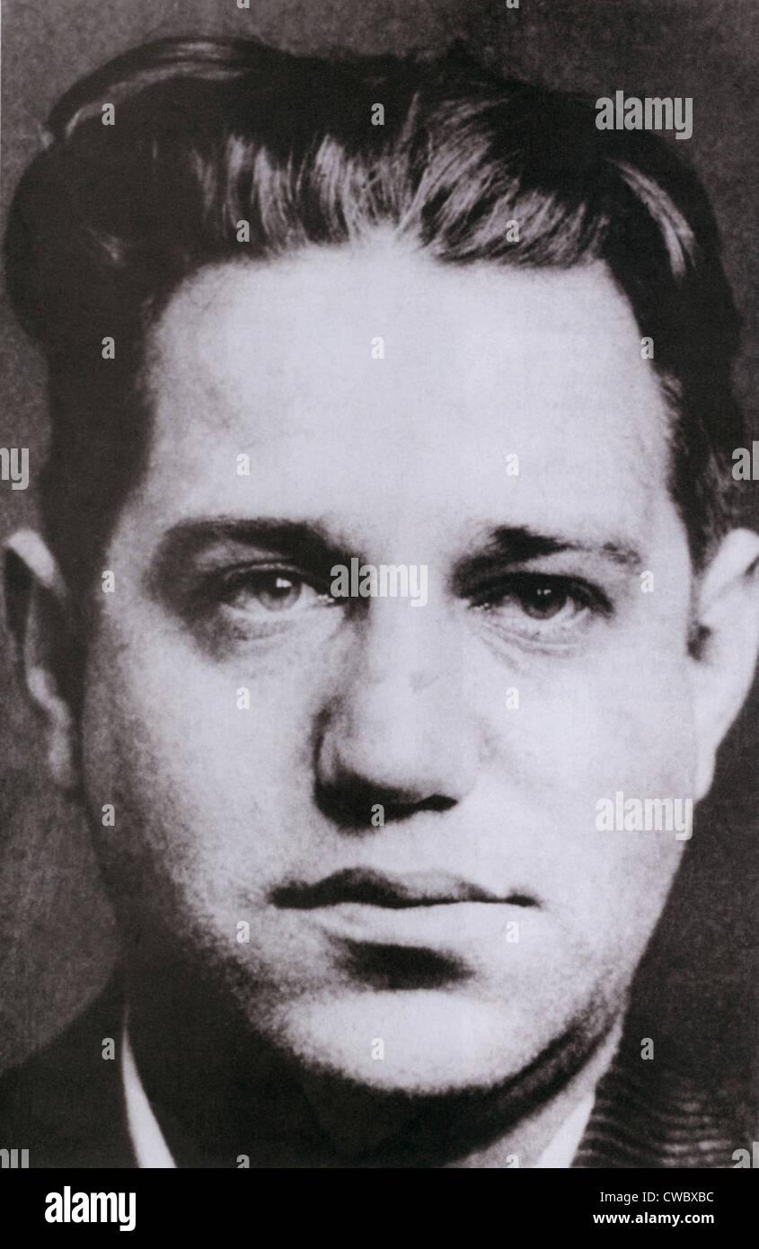 Seymour 'Blue Jaw' Magoon, Irish American hit man in New York's Murder Inc. Ca. 1930s. - Stock Image
