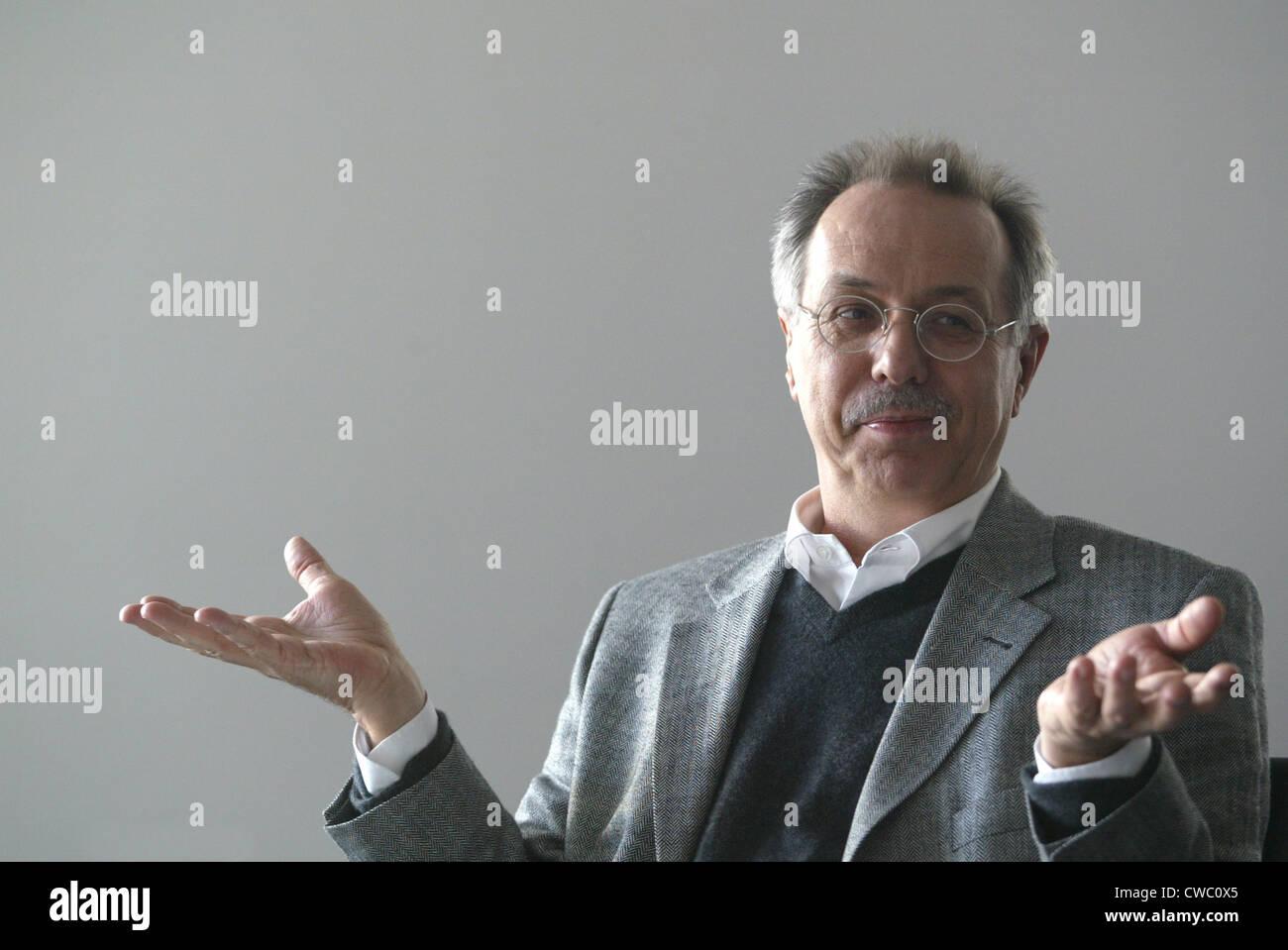 Dieter Kosslick in Conversation - Stock Image
