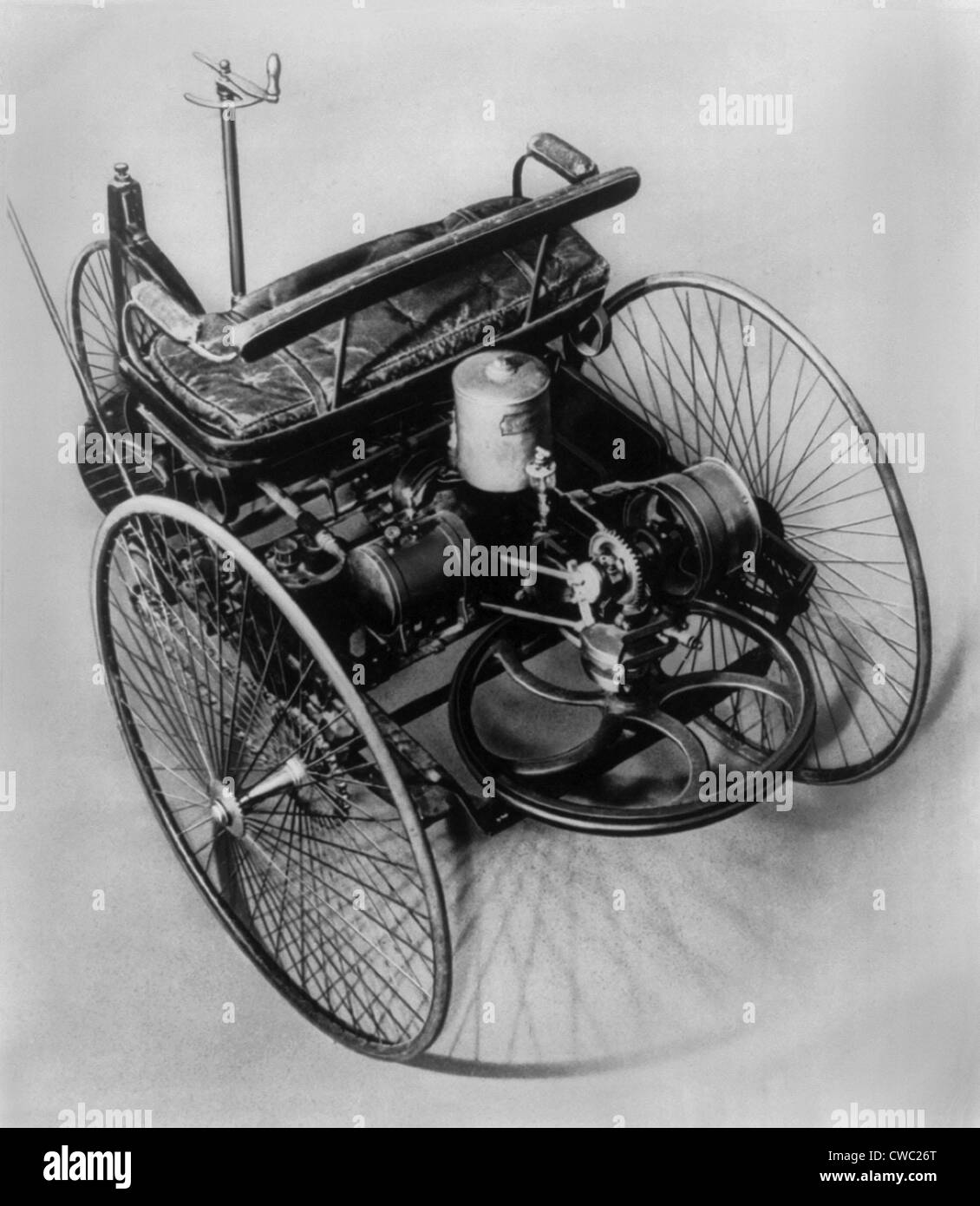 The Benz three-wheeler made in 1885 was the first practical Stock ...