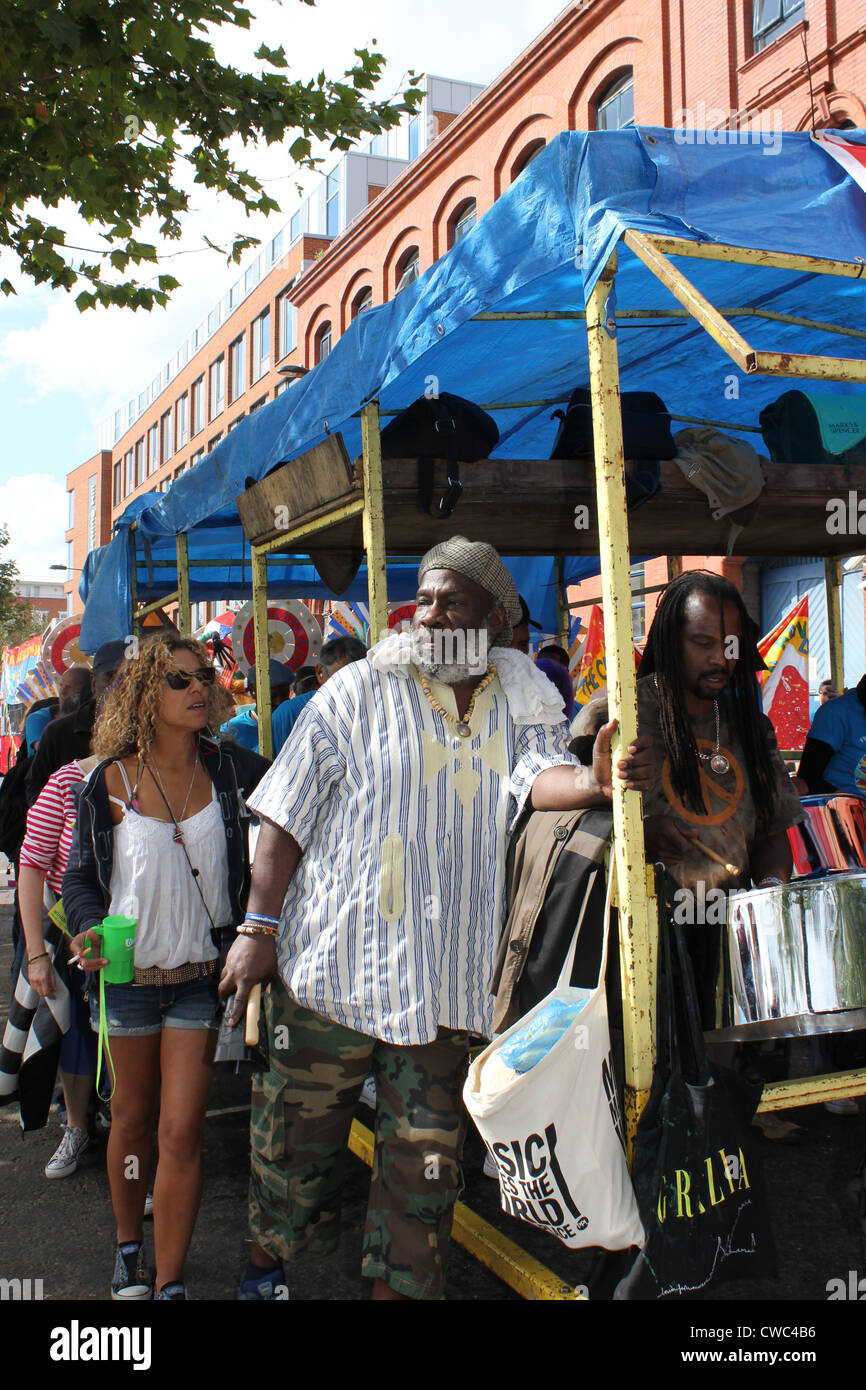 Annual Notting  Hill Carnival 2011 - Stock Image
