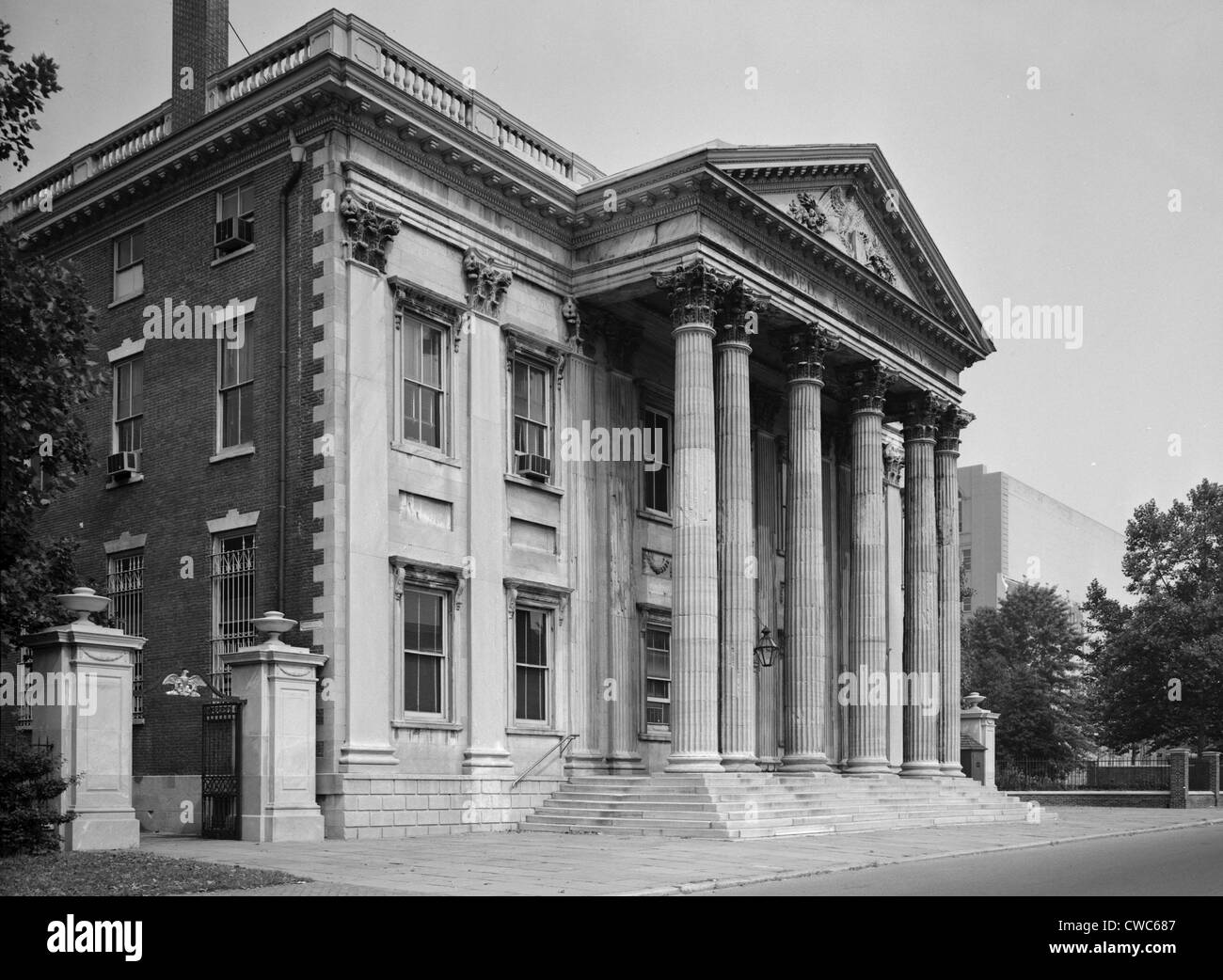 First Bank of the United States, Philadelphia, Pennsylvania - Stock Image