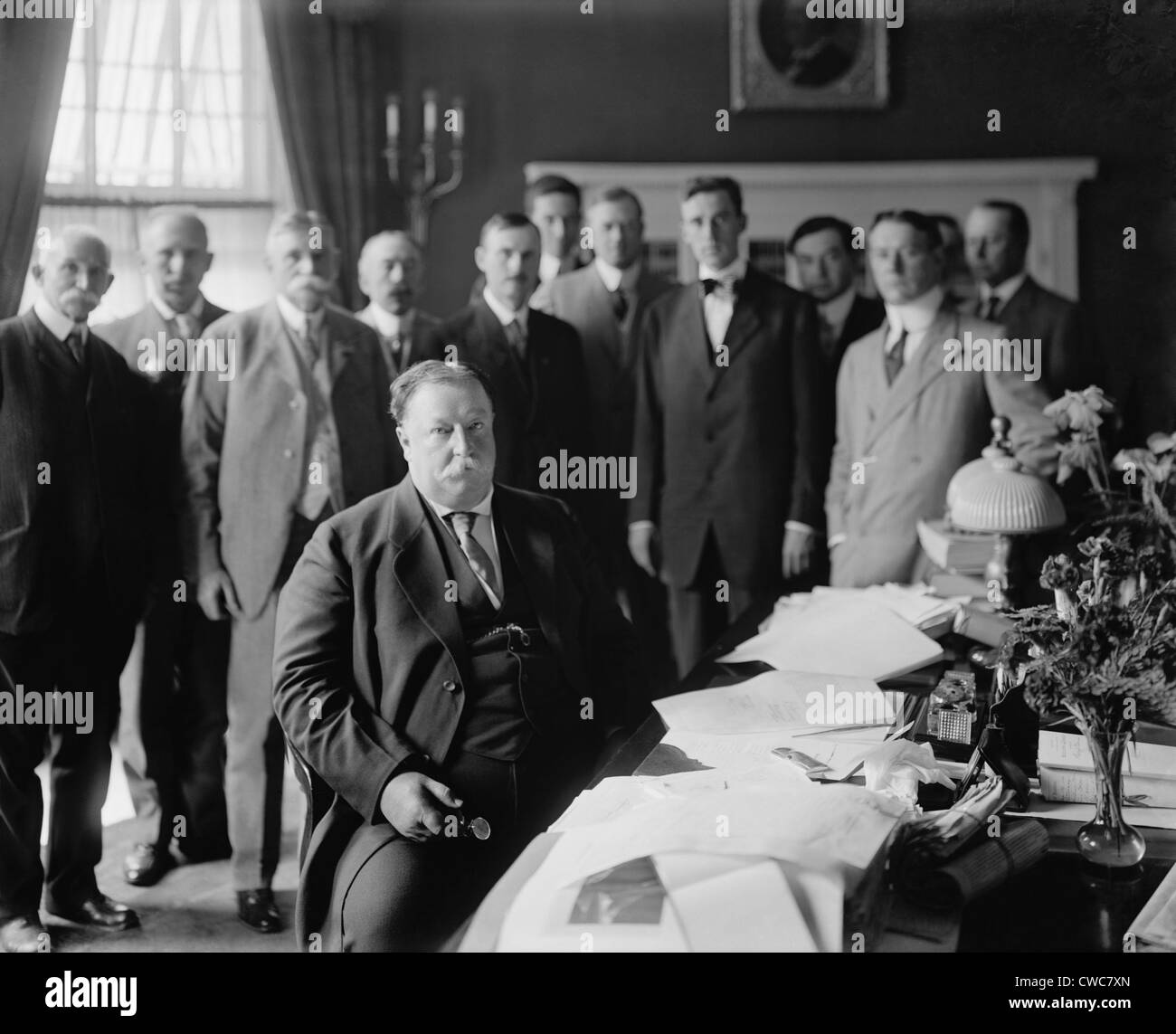 west wing oval office. President William H. Taft At His Desk In The Oval Office He Had Built Centered South Side Of West Wing White S