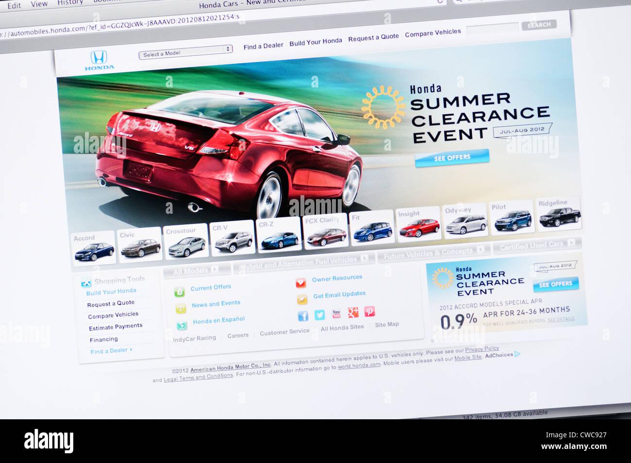 Kekurangan Web Honda Review