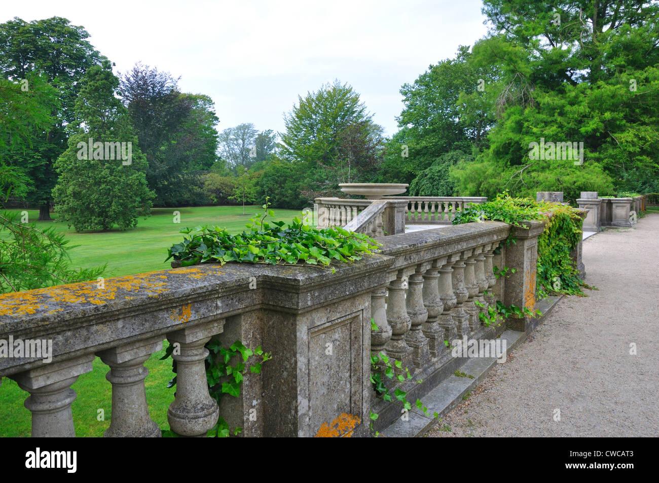 The Breakers Mansion Garden, Newport, Rhode Island, USA