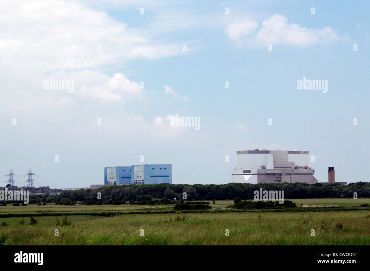 Hinkley Point nuclear power station, Somerset, England - Stock Image