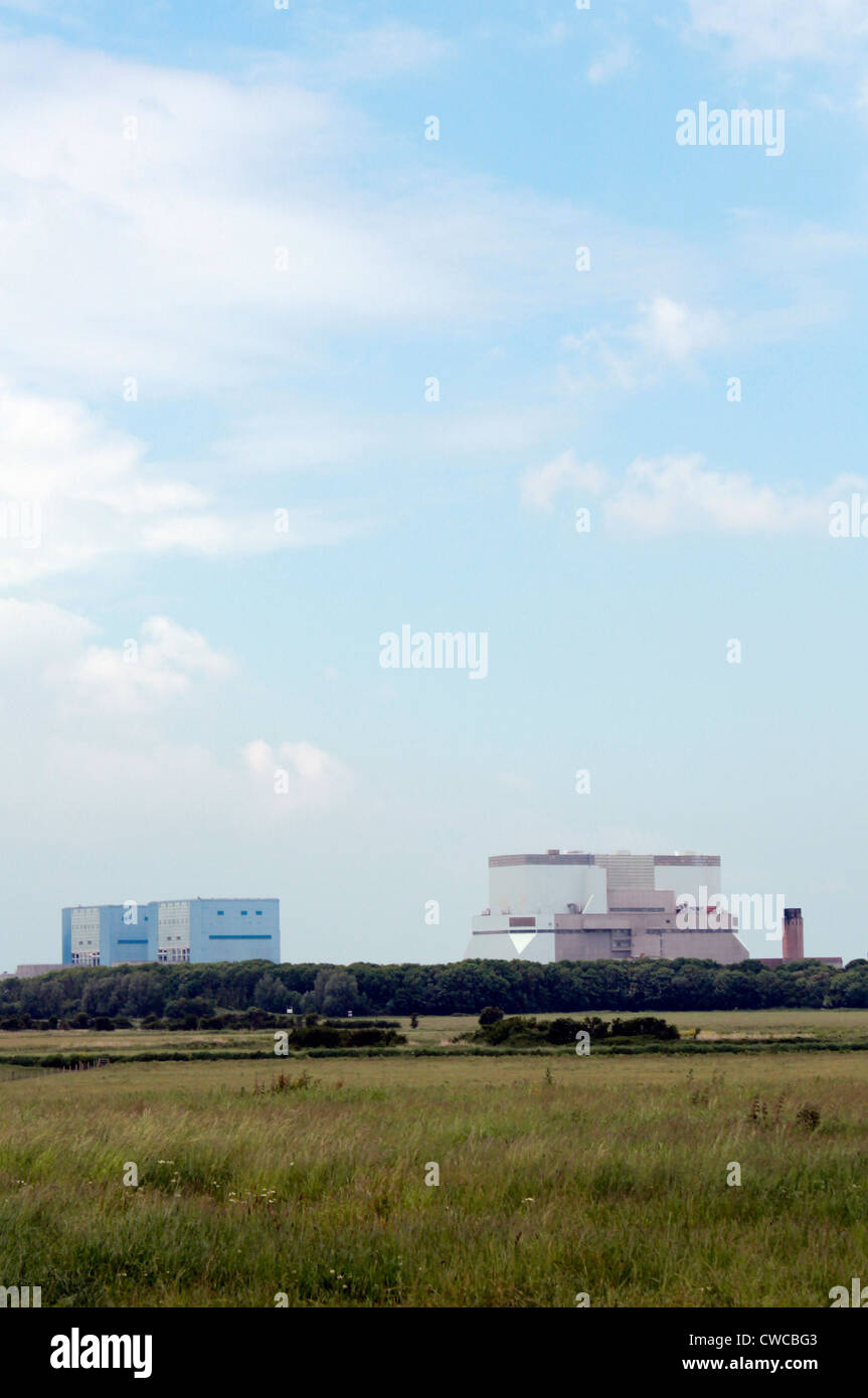 Hinkley Point nuclear power station, Somerset, England Stock Photo