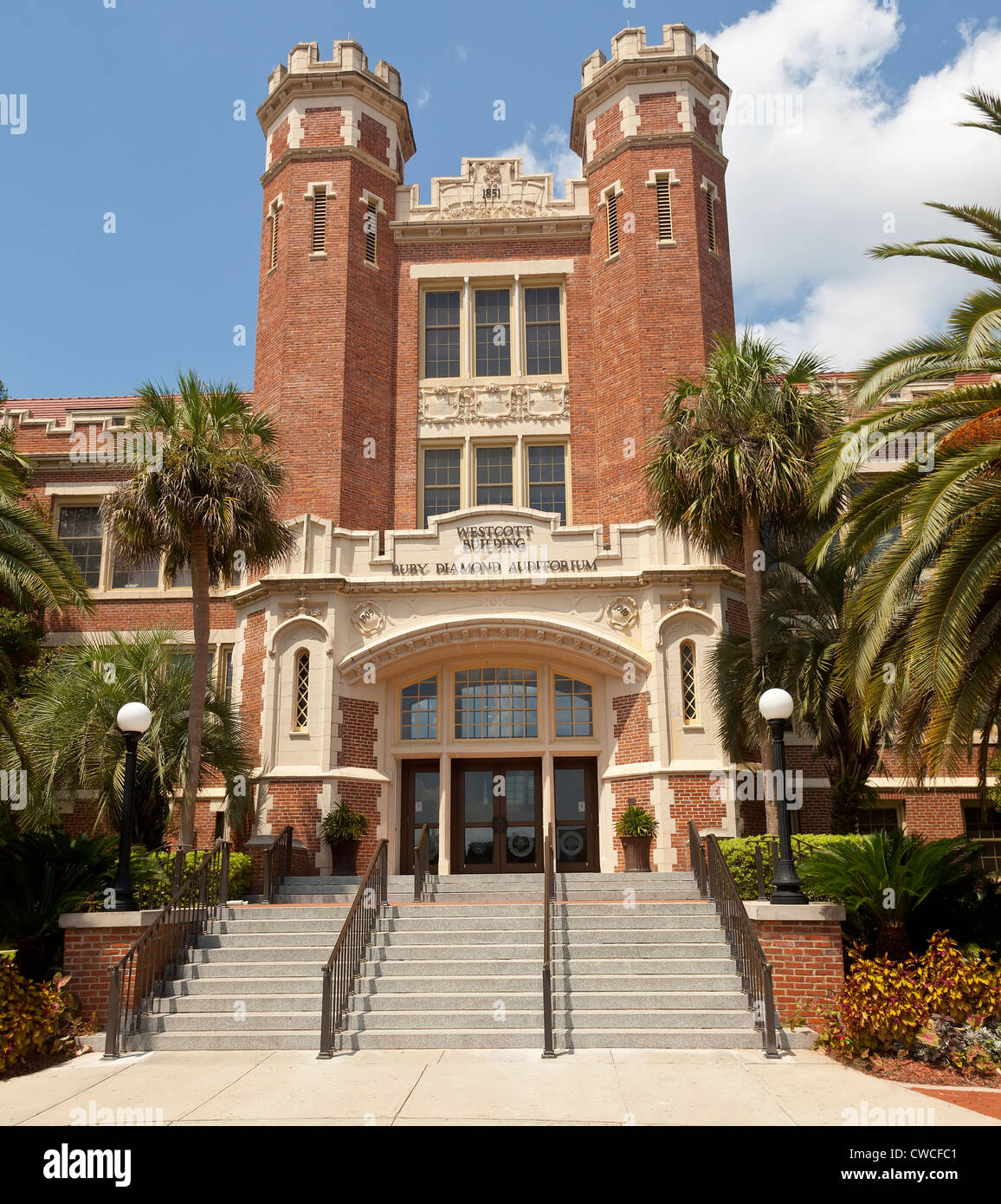 James D. Westcott Building at Florida State University, Tallahassee, Florida, USA - Stock Image