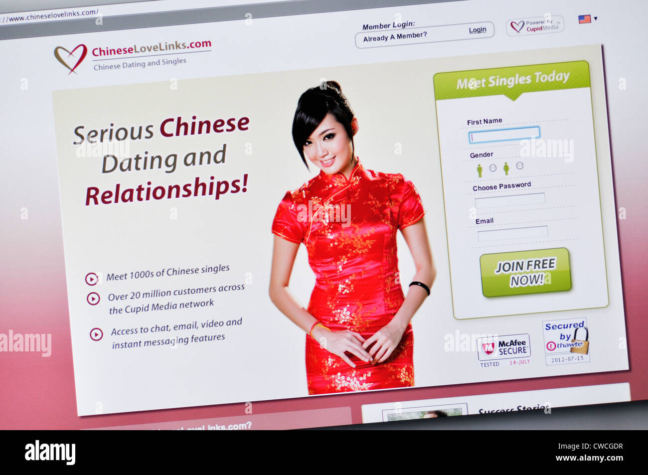 Chinese dating chat site