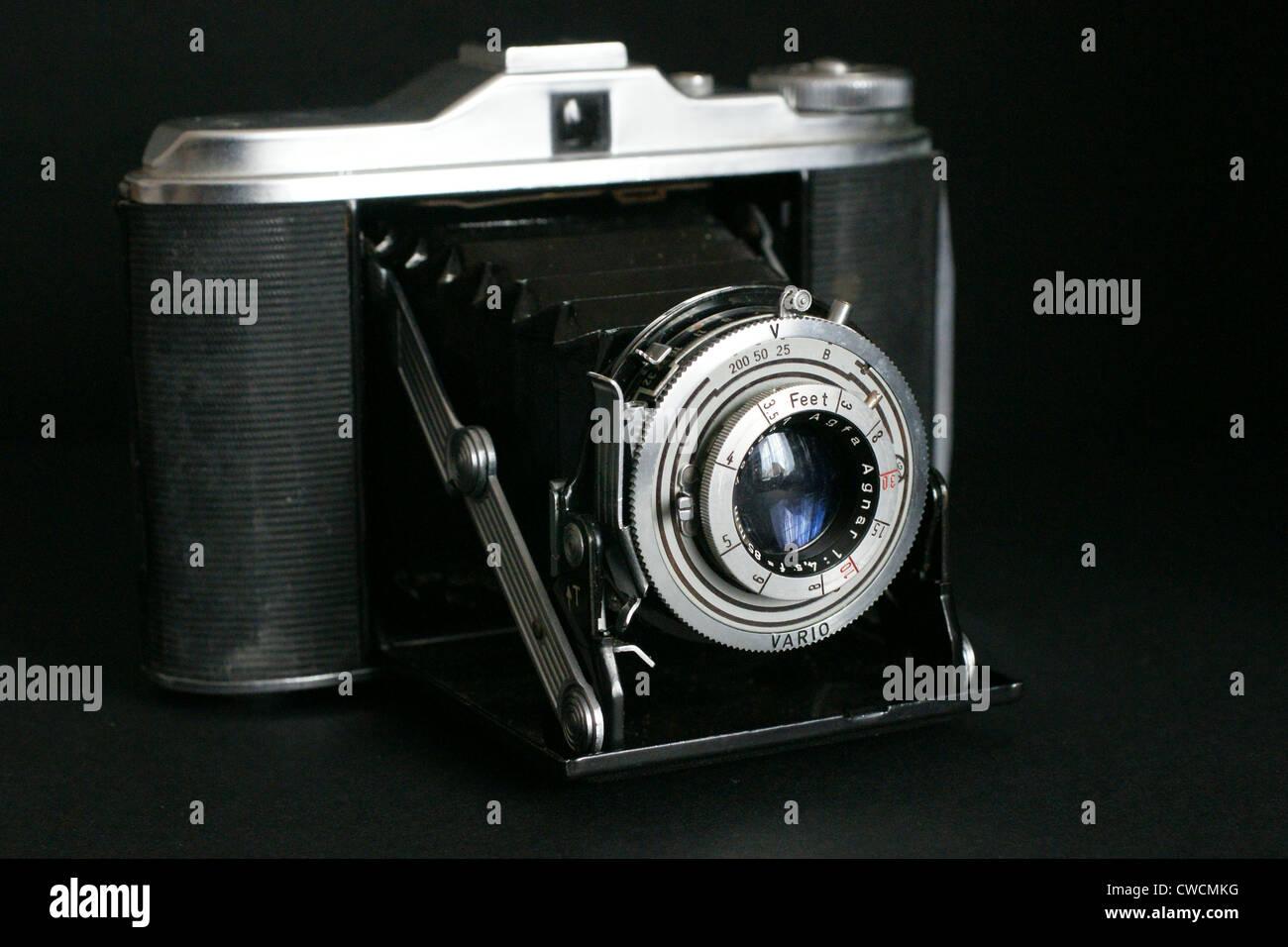 Vintage Agfa Isollette camera - Stock Image