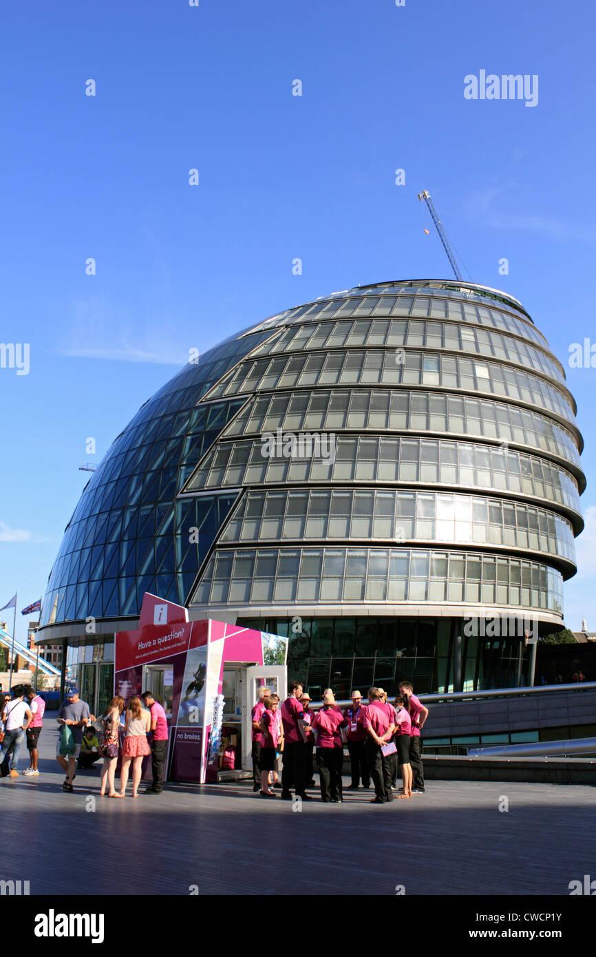 The London Assembly Building Southwark London England UK - Stock Image