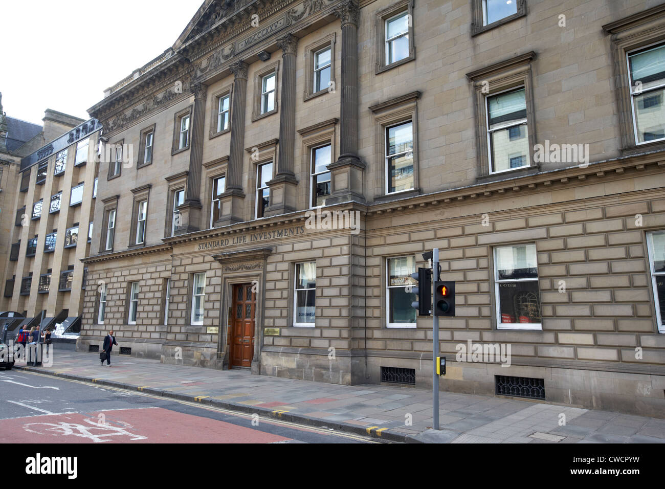 standard life investments building 1 george street edinburgh scotland uk united kingdom - Stock Image