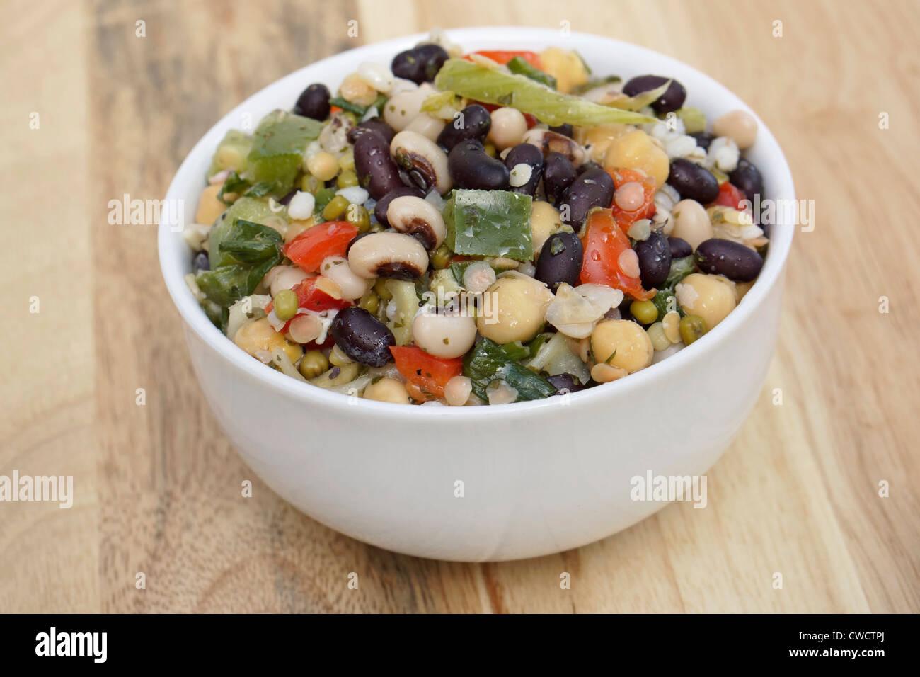 Bean Salad - Stock Image