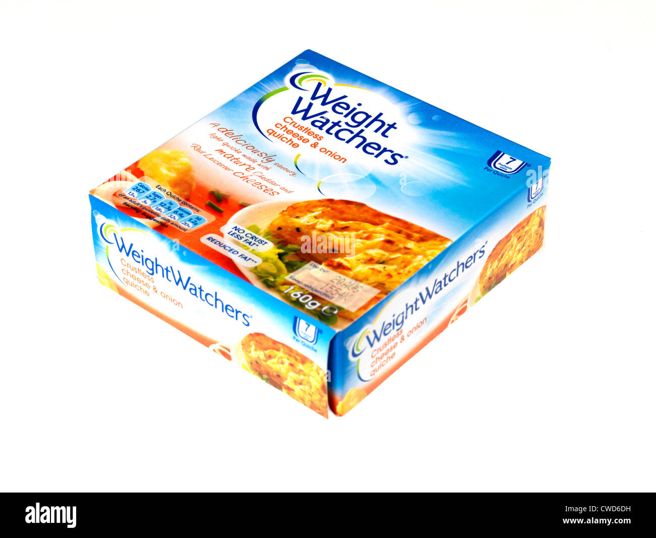Weight Watchers Quiche - Stock Image