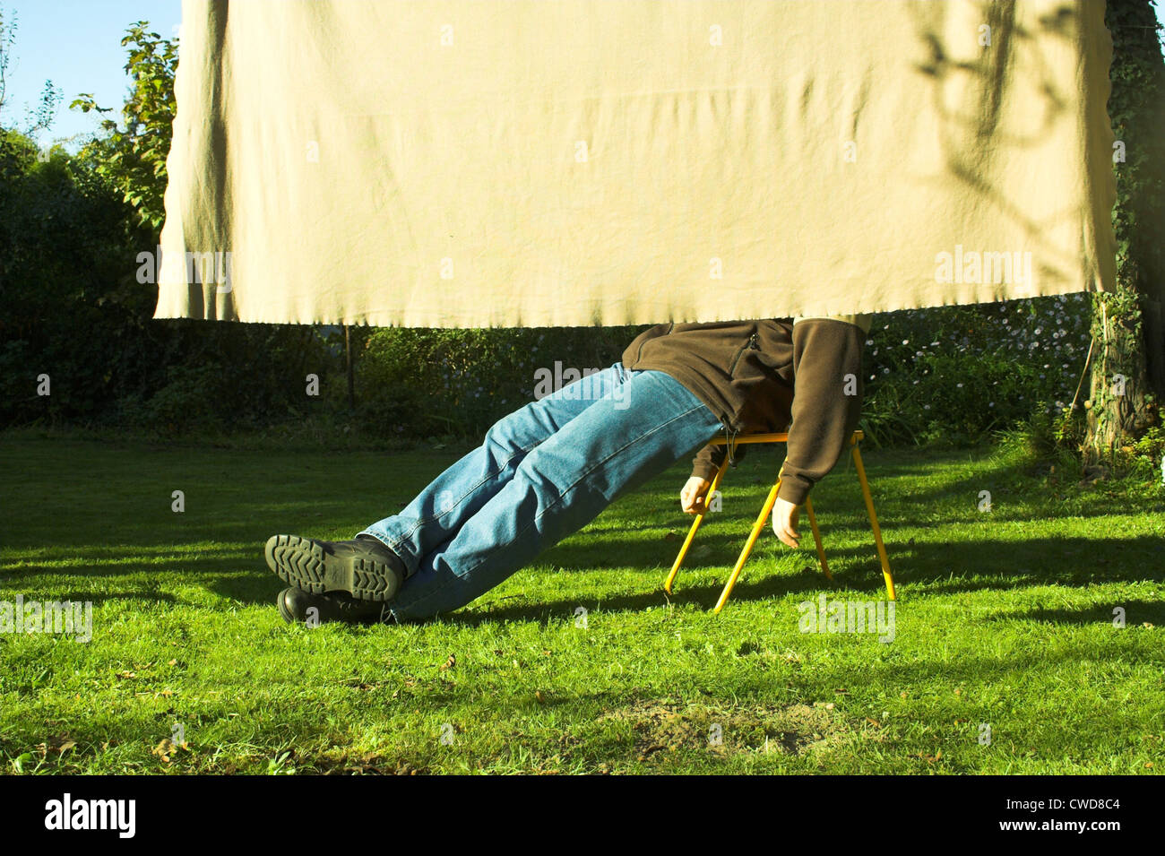 man,enjoyment,relaxation,resting,relaxation,recreation - Stock Image