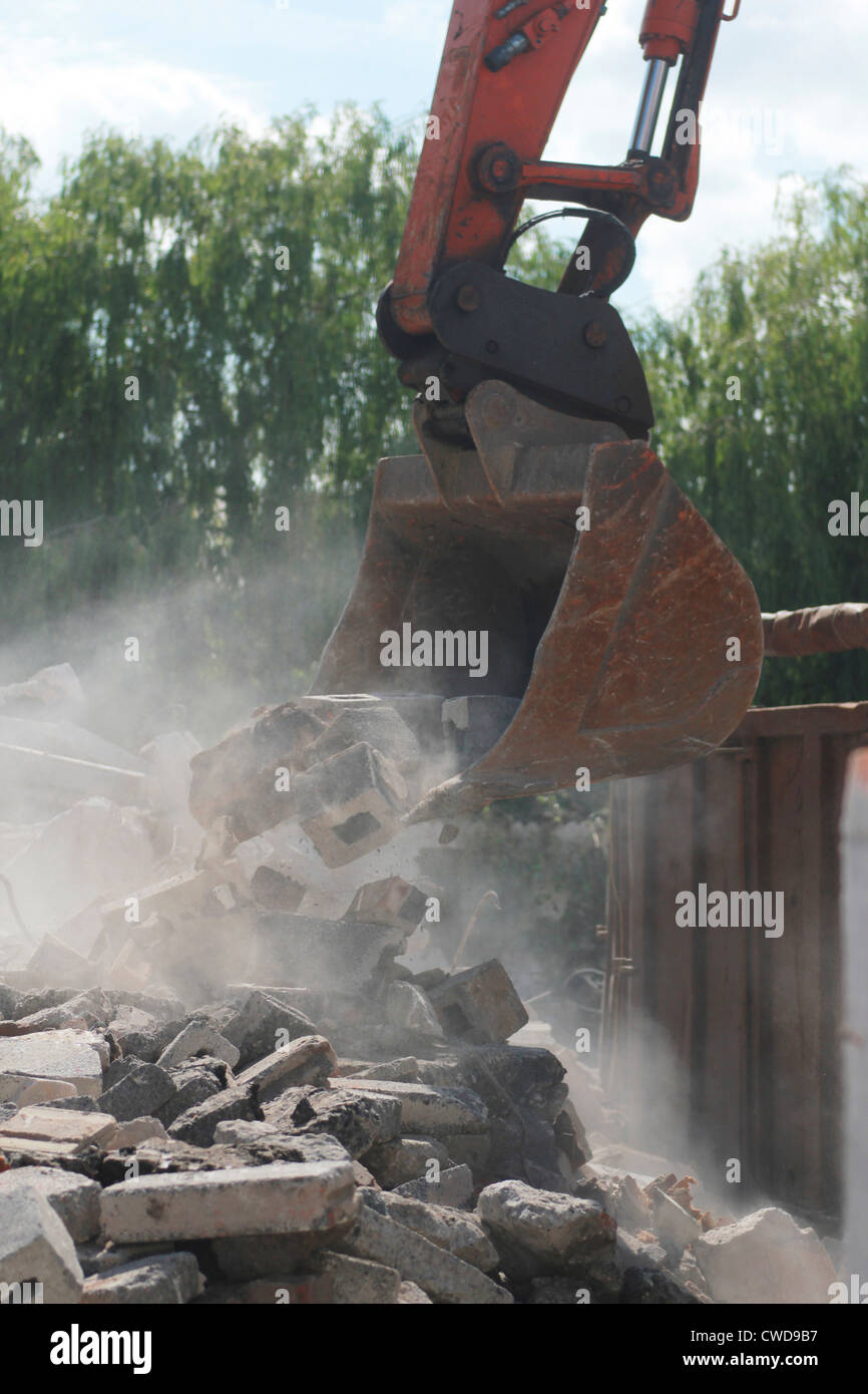Demolition - Stock Image