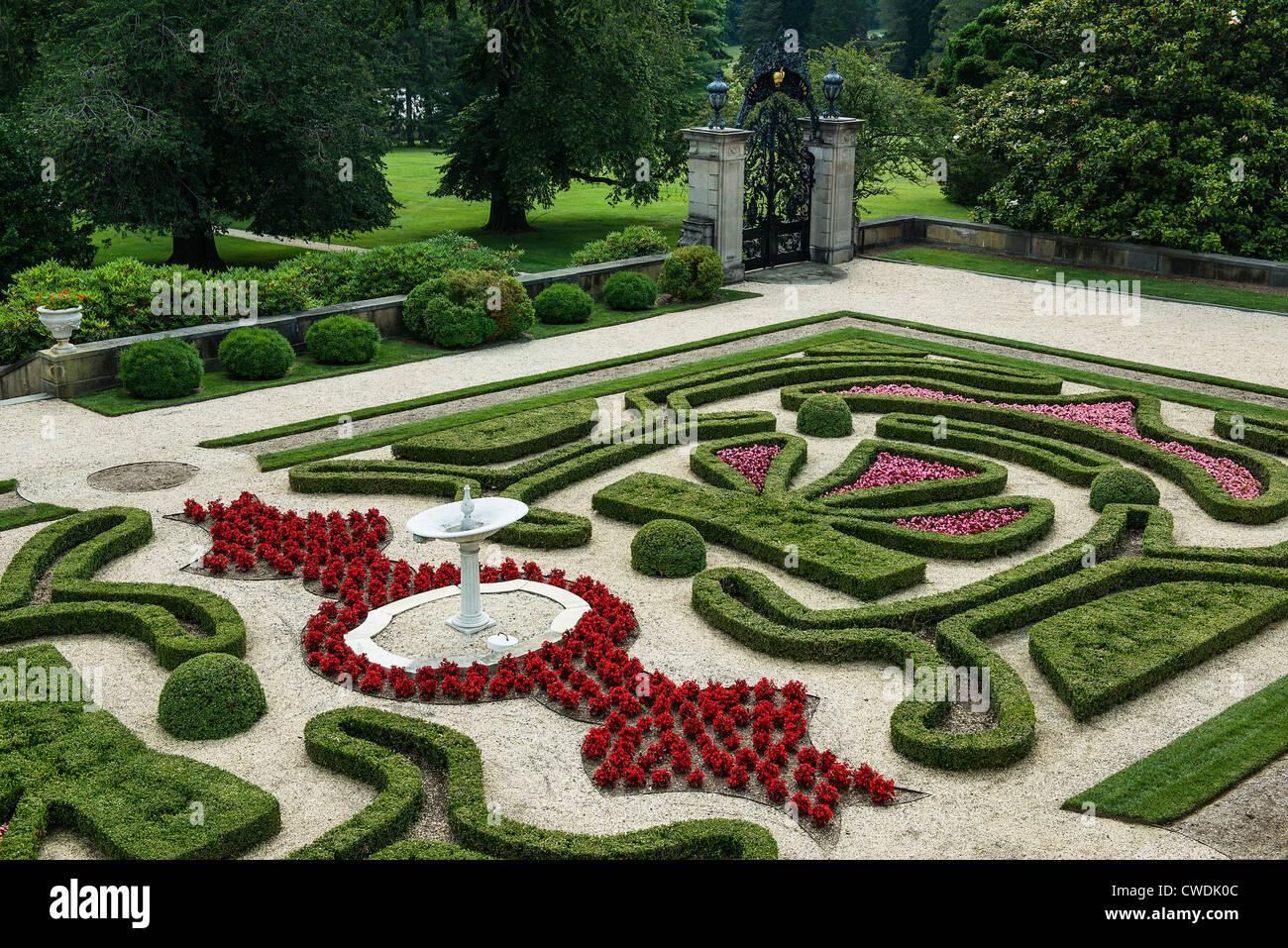 Nice Boxwood Garden, Nemours Mansion And Gardens, Wilmington, Delaware, USA