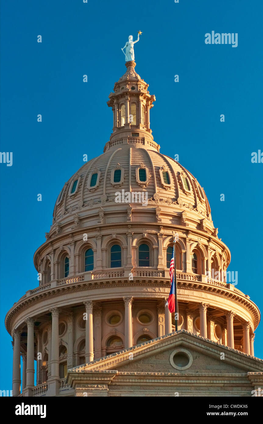 State Capitol in Austin, Texas, USA - Stock Image