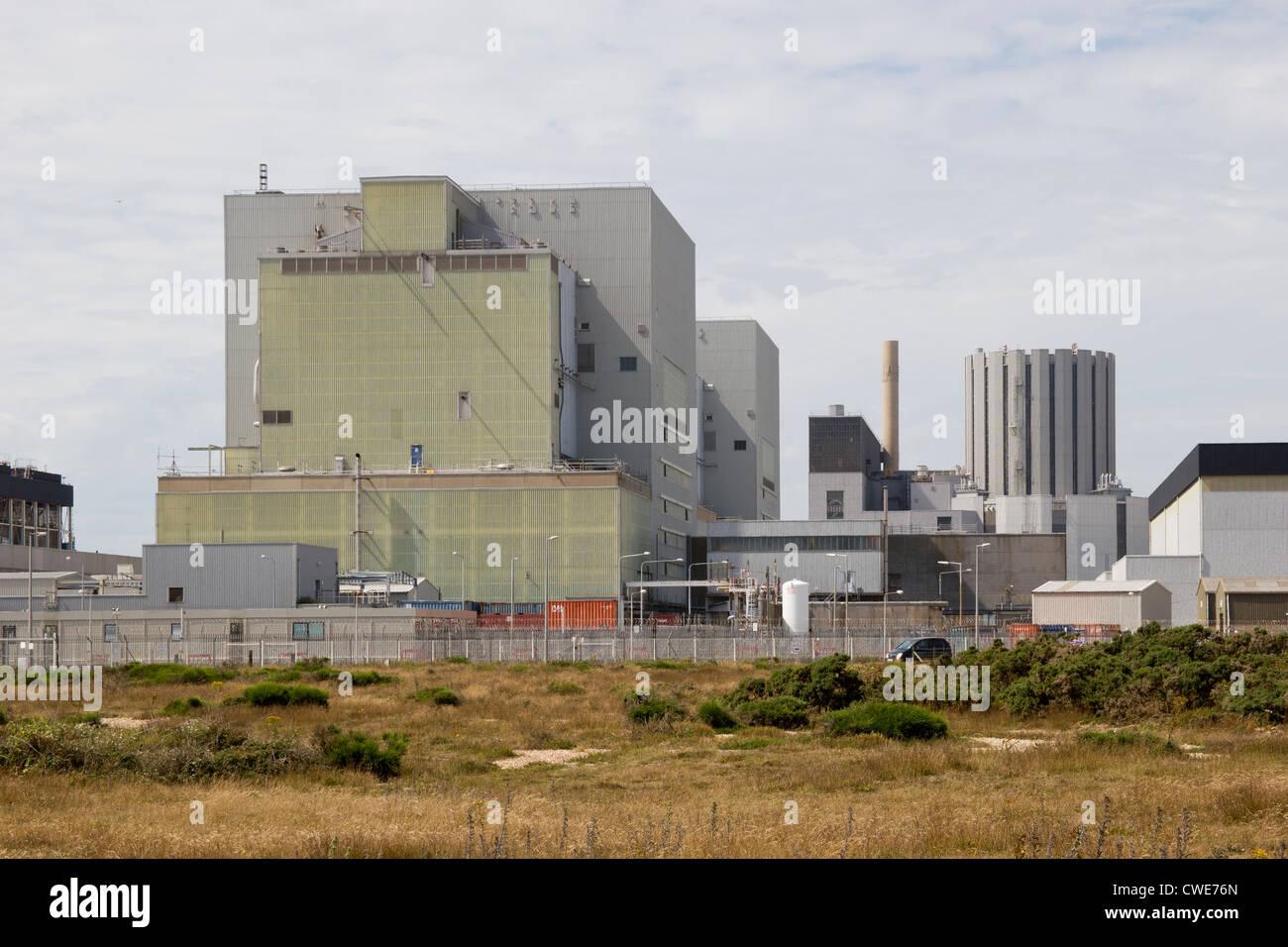 Dungeness Nuclear Power Station Kent England UK - Stock Image
