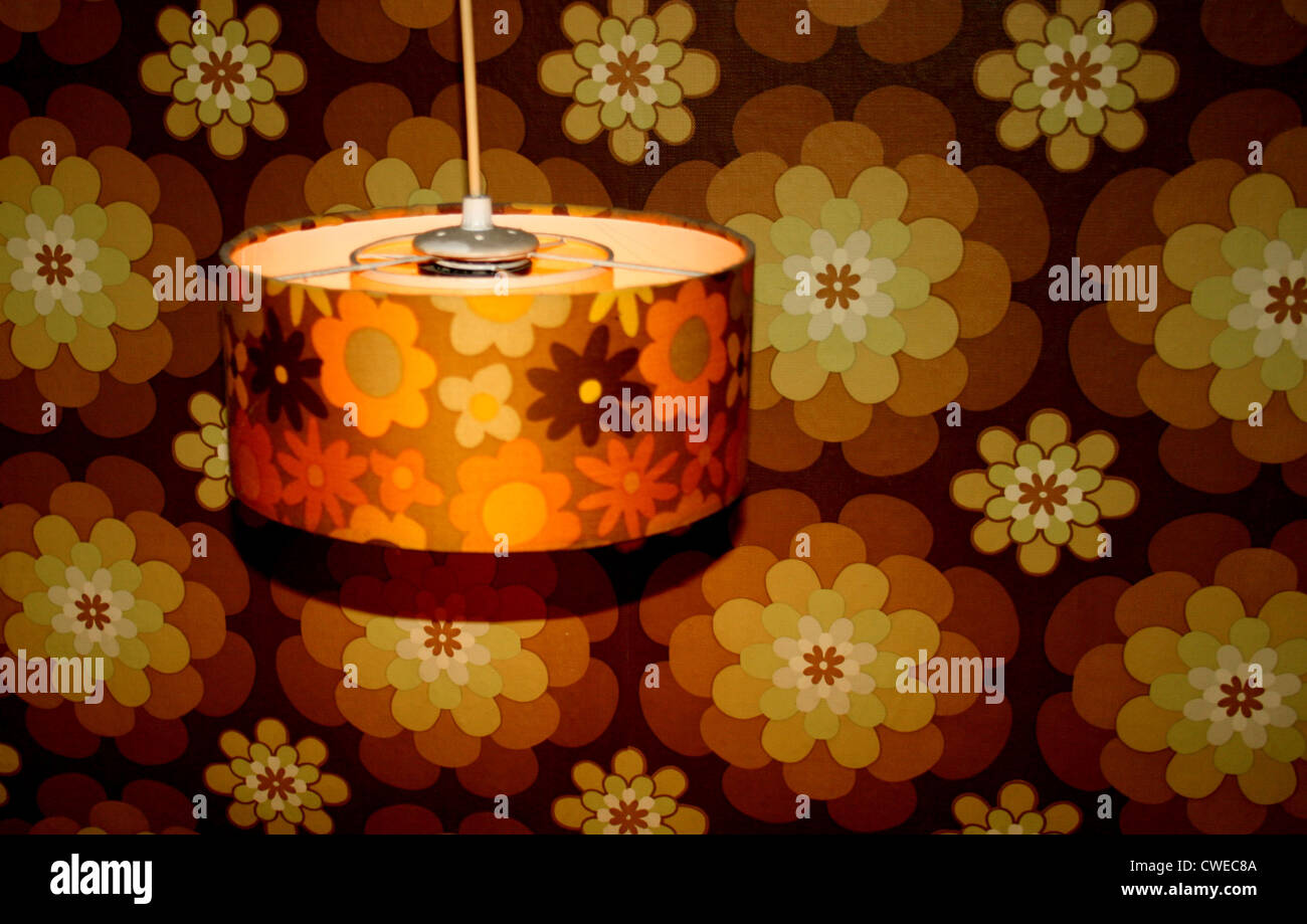 retro,lamp - Stock Image