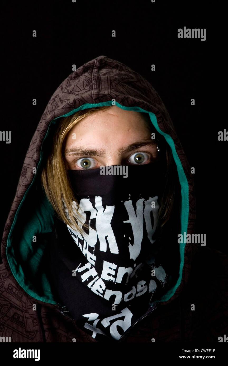 confrontation,rivalry,aggressive,identity protection - Stock Image