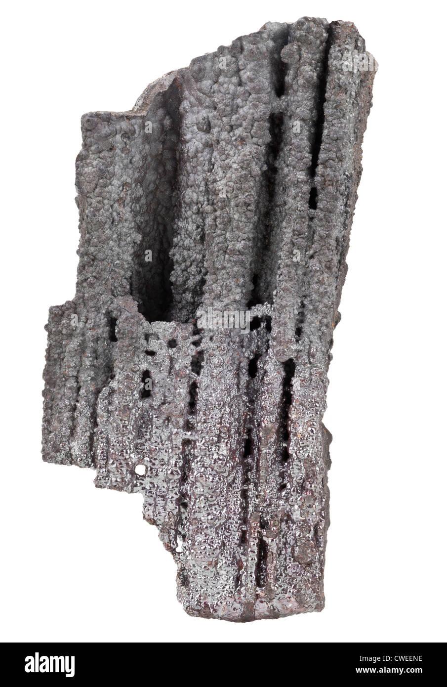 Goethite, Brown Iron Ore (FeO(OH)), Germany - Stock Image