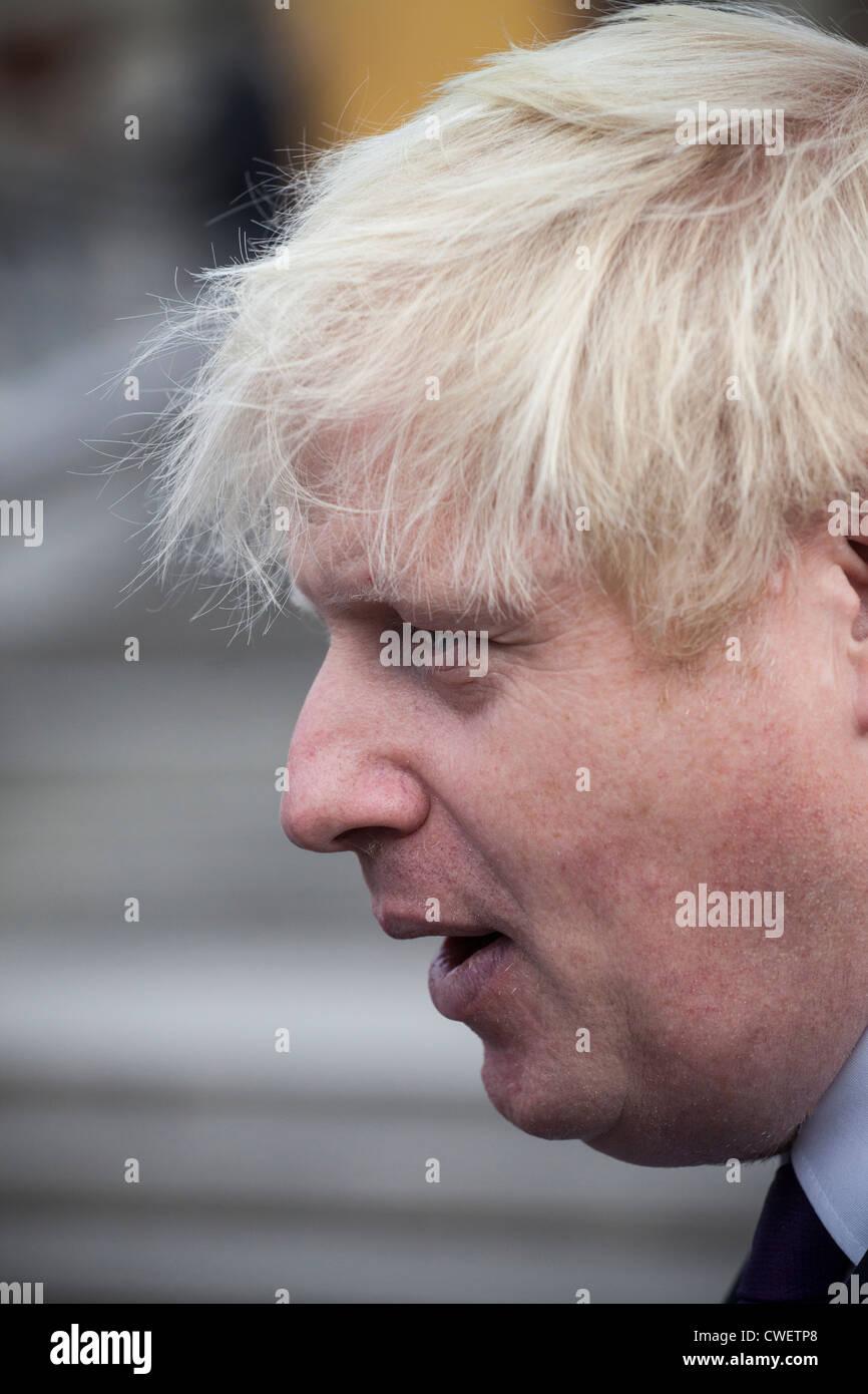 Mayor of London, Boris Johnson. - Stock Image