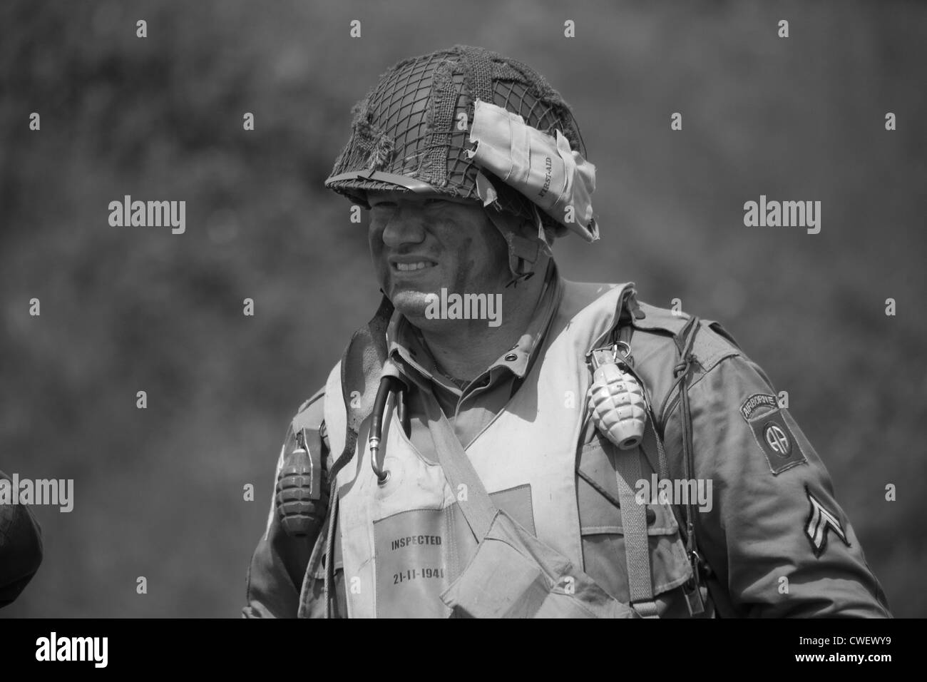 US Army Soldier - Stock Image