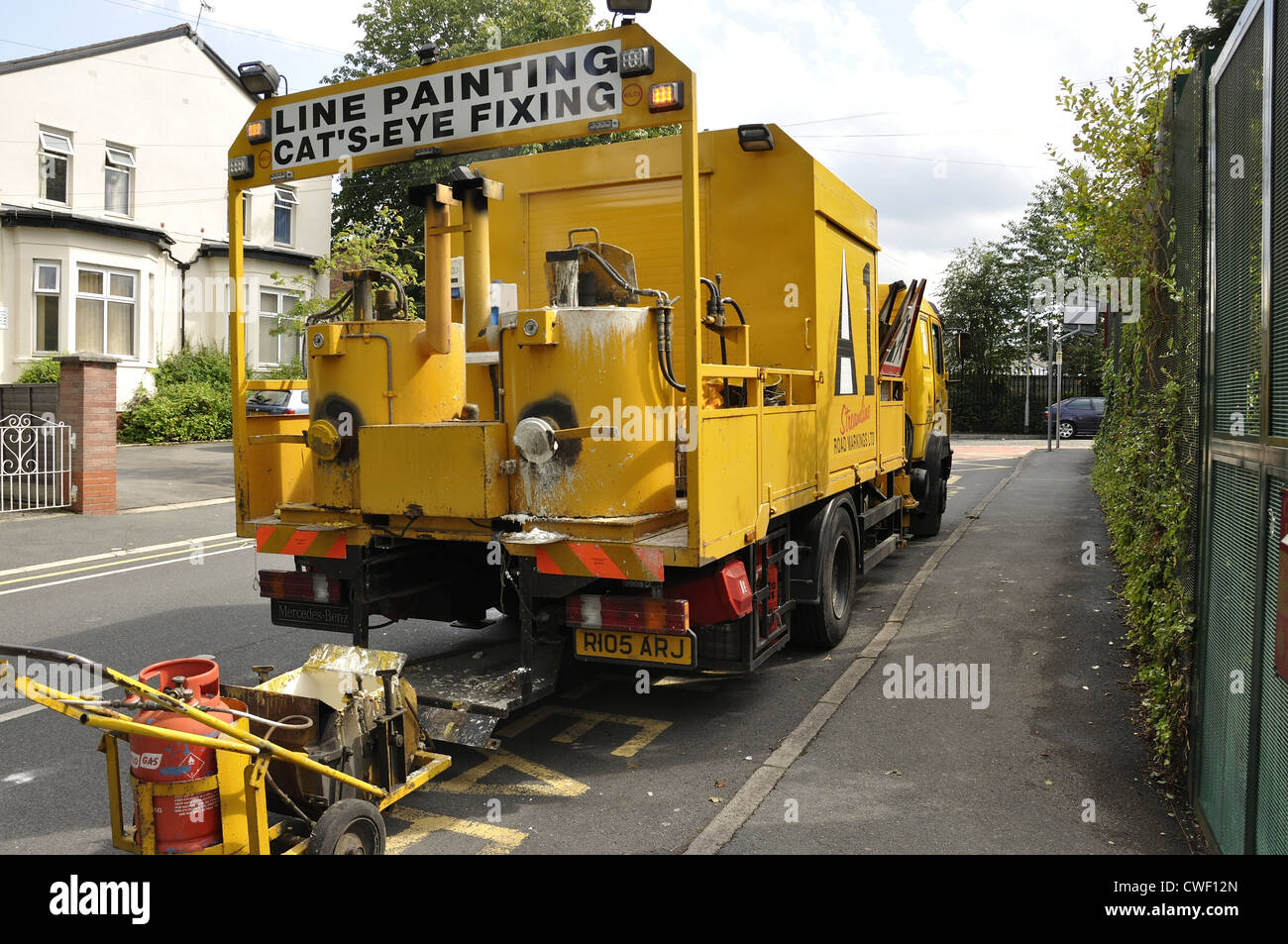 Line Painting Lorry High Resolution Stock Photography And Images Alamy