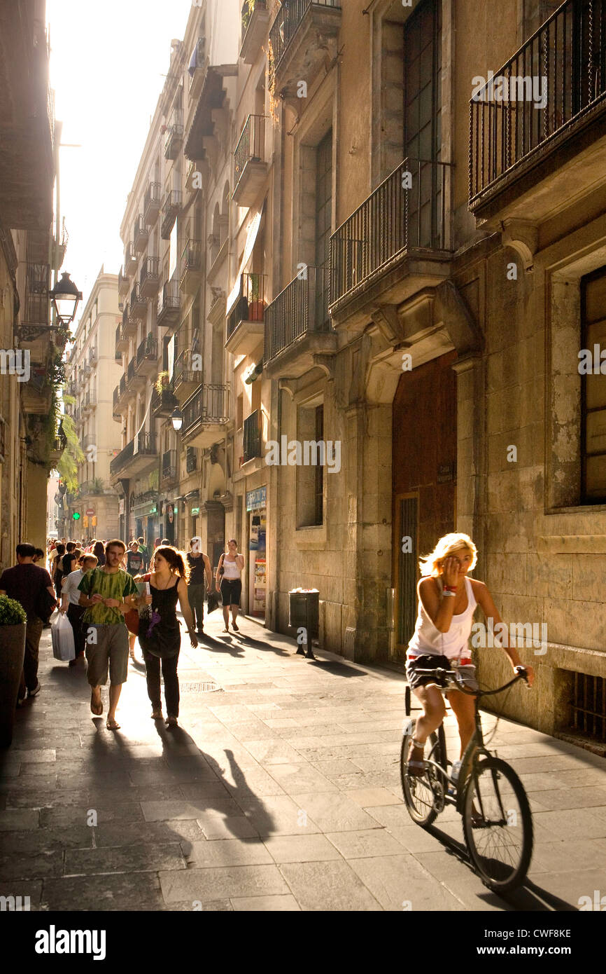 Barcelona, Catalonia, Spain - Stock Image