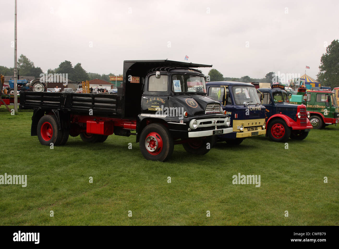 Driffield Steam Rally 2012 - Stock Image