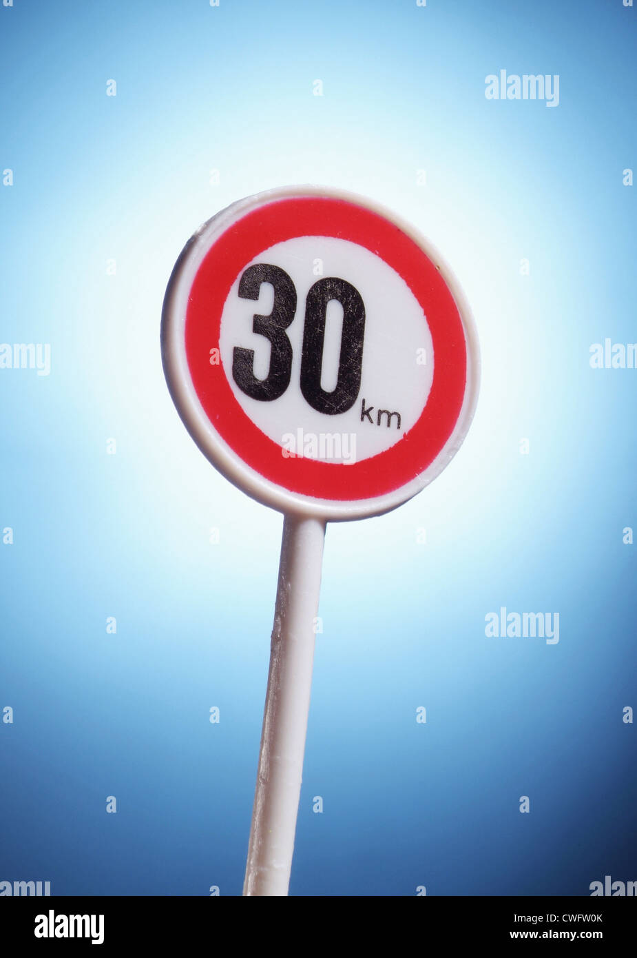 Maximum allowable speeds