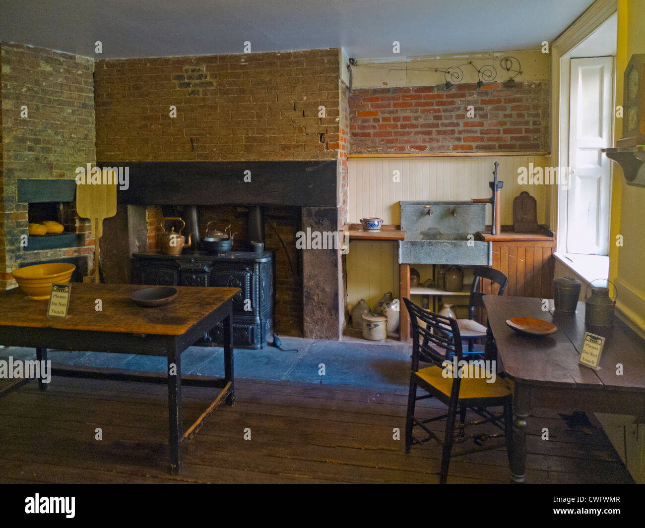 Merchant's house museum in New York City - Stock Image