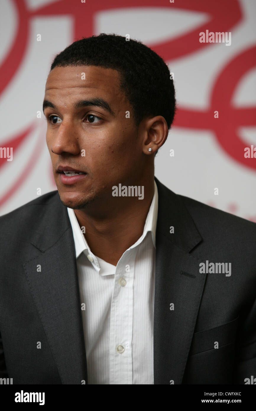 Scott Sinclair, Swansea City winger and member of Team GB Olympic football team 2012. - Stock Image