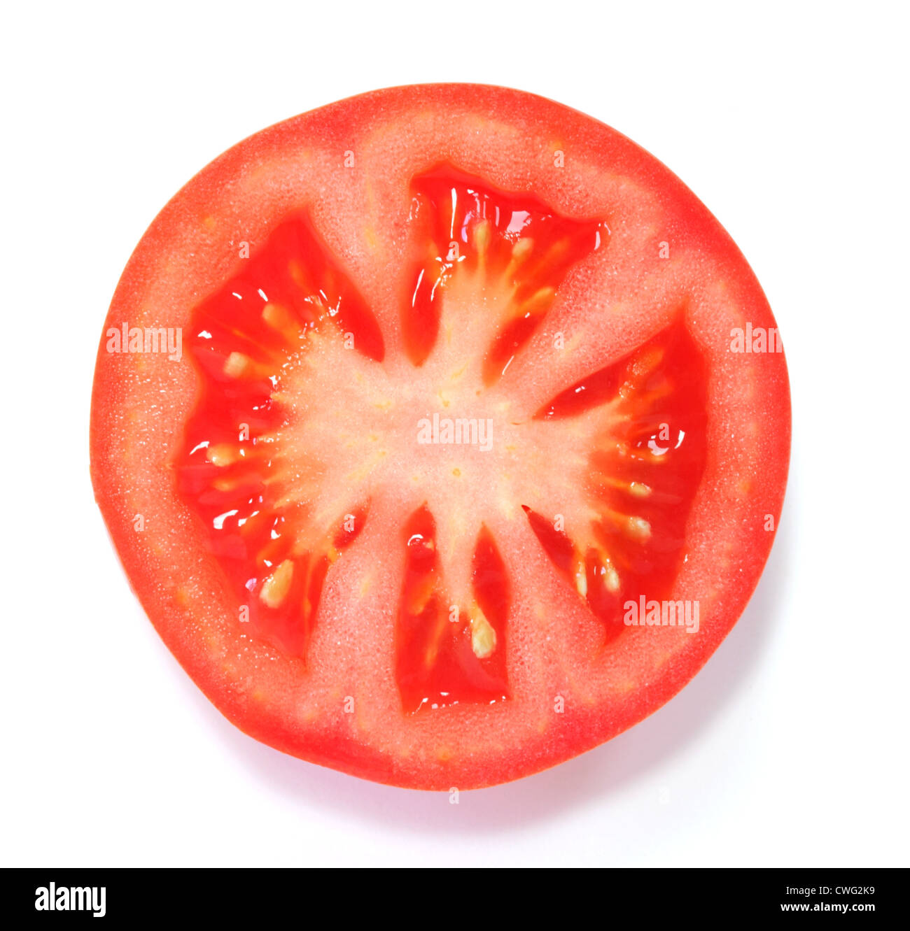 sliced tomato above stock photos sliced tomato above stock images