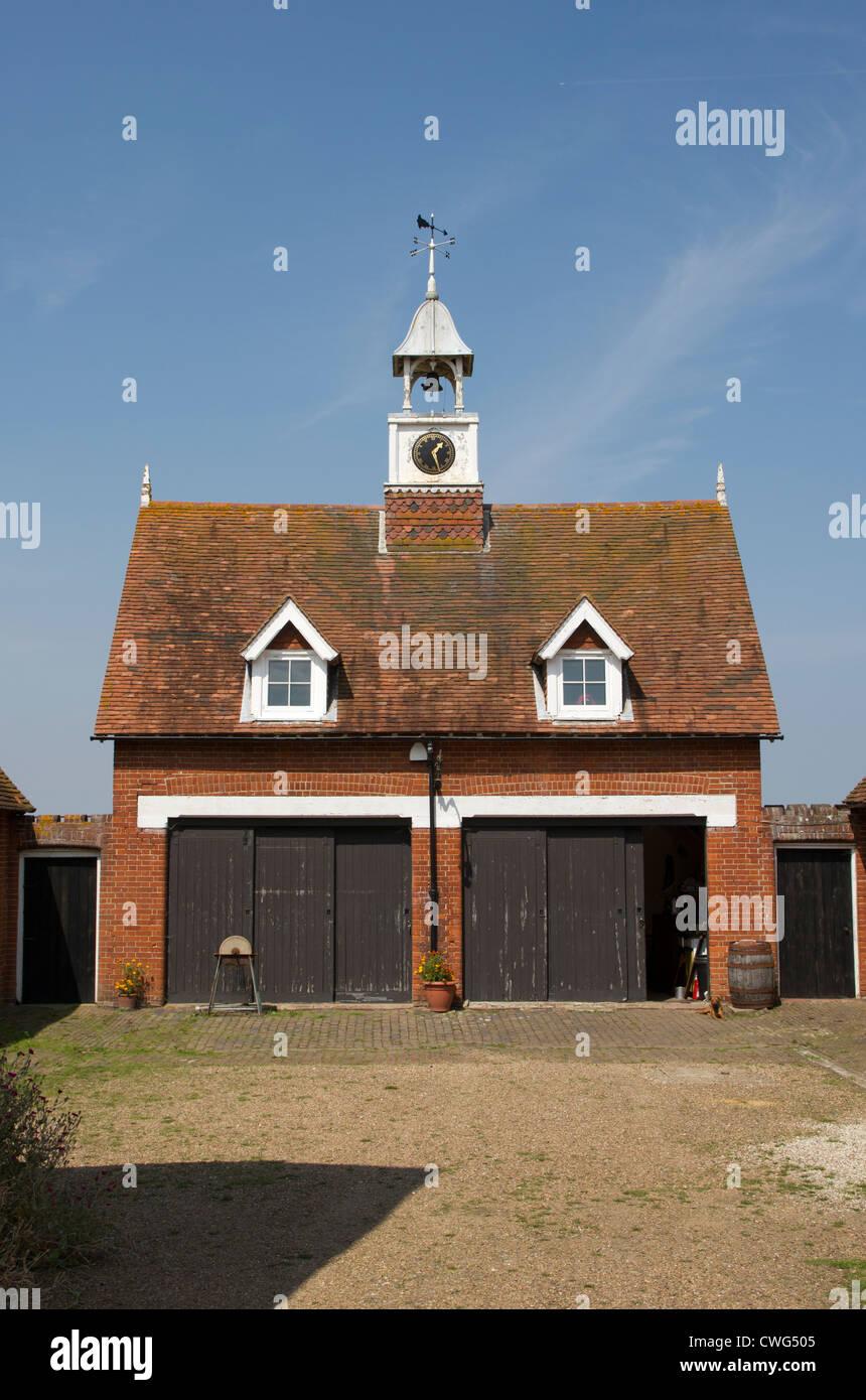 Garage Block , Mount Ephraim Dunkirk Kent UK   Visitor Attraction Kent - Stock Image