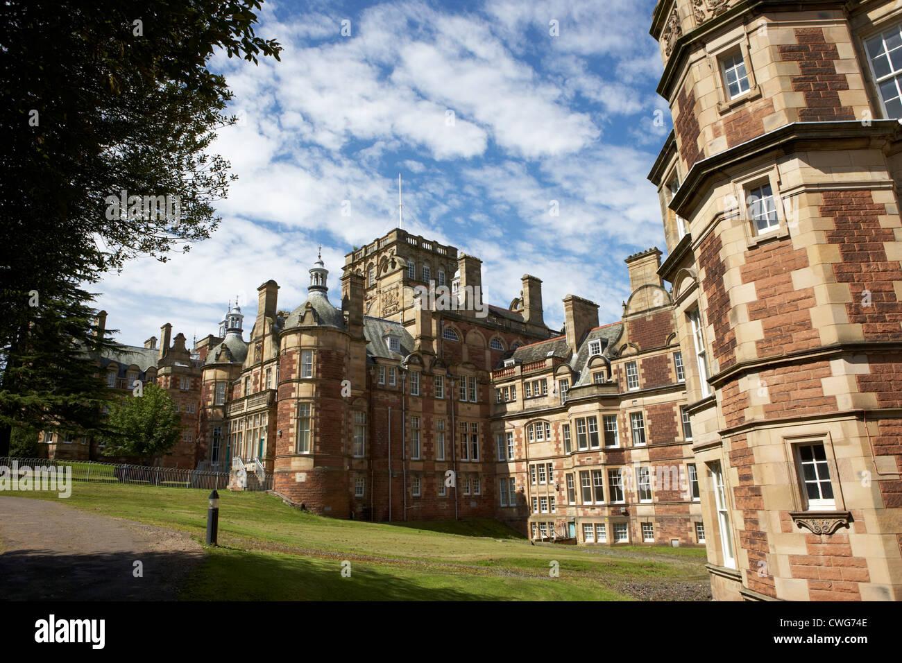 new craig building of the craighouse campus of edinburgh napier university, scotland, uk, united kingdom - Stock Image