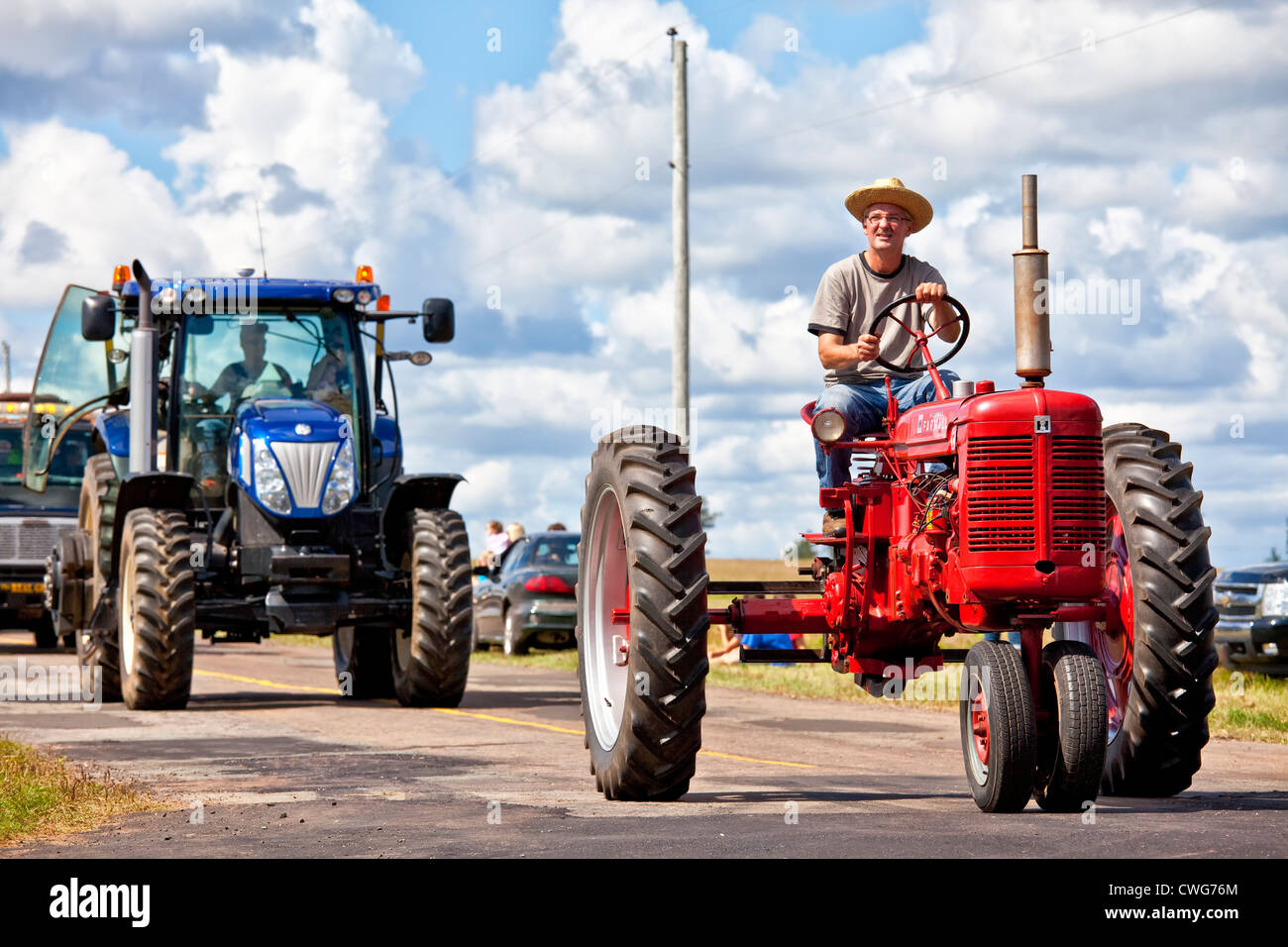 Provincial Plowing Match and Parade & Agricultural Fair, held yearly in Dundas, Prince Edward Island. - Stock Image