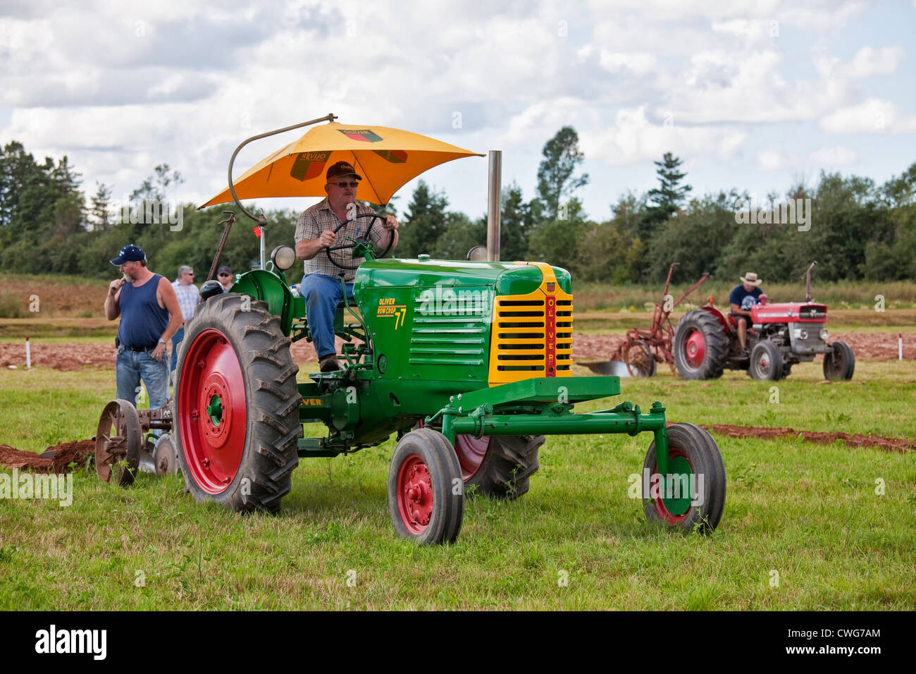 Provincial Plowing Match and Parade & Agricultural Fair, Dundas, PEI - Stock Image