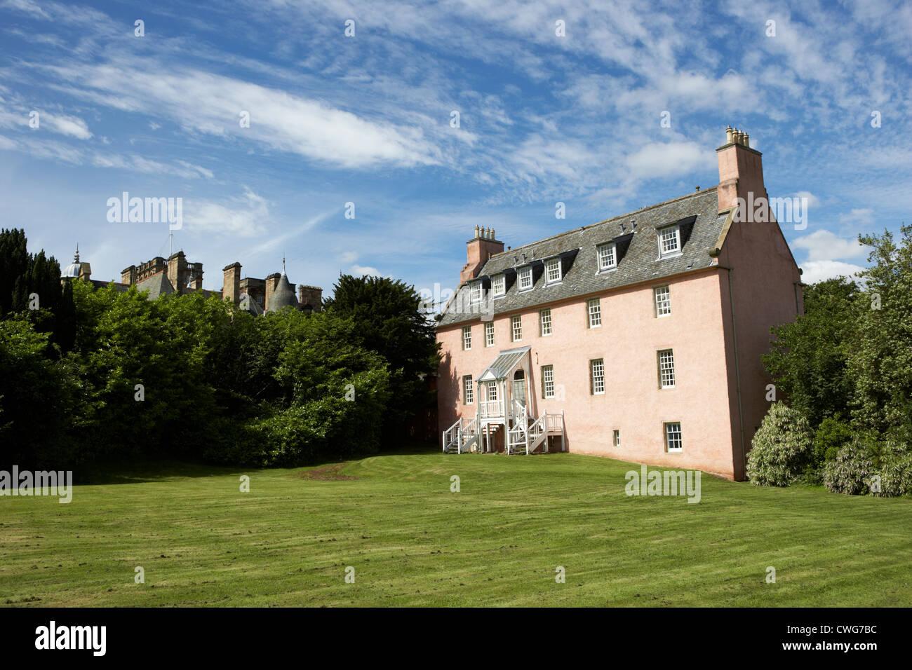 old craig building of the craighouse campus of edinburgh napier university, scotland, uk, united kingdom - Stock Image