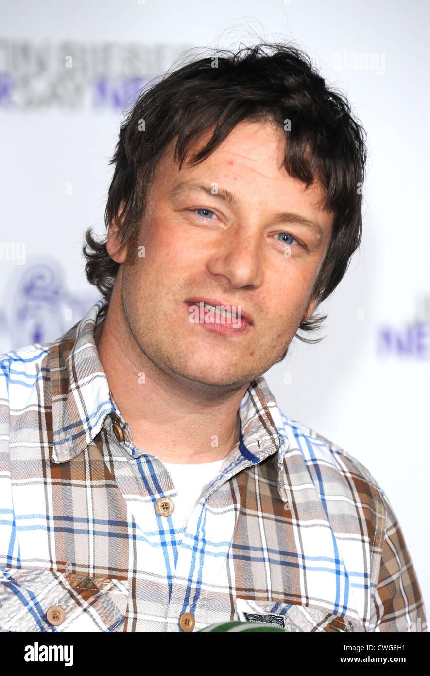 Jamie Oliver - Stock Image