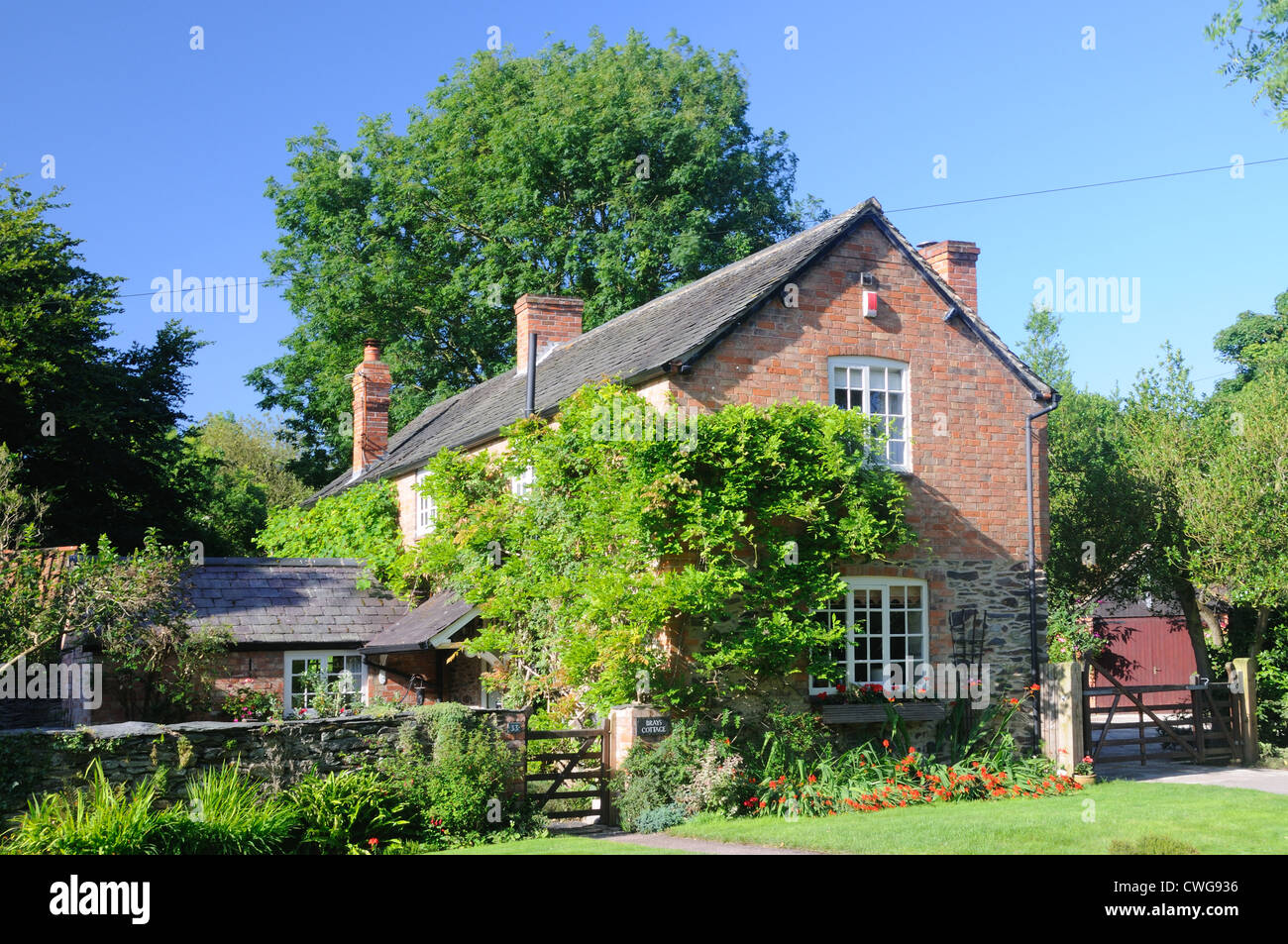 Brays Cottage, in Woodhouse, Leicestershire, England Stock Photo
