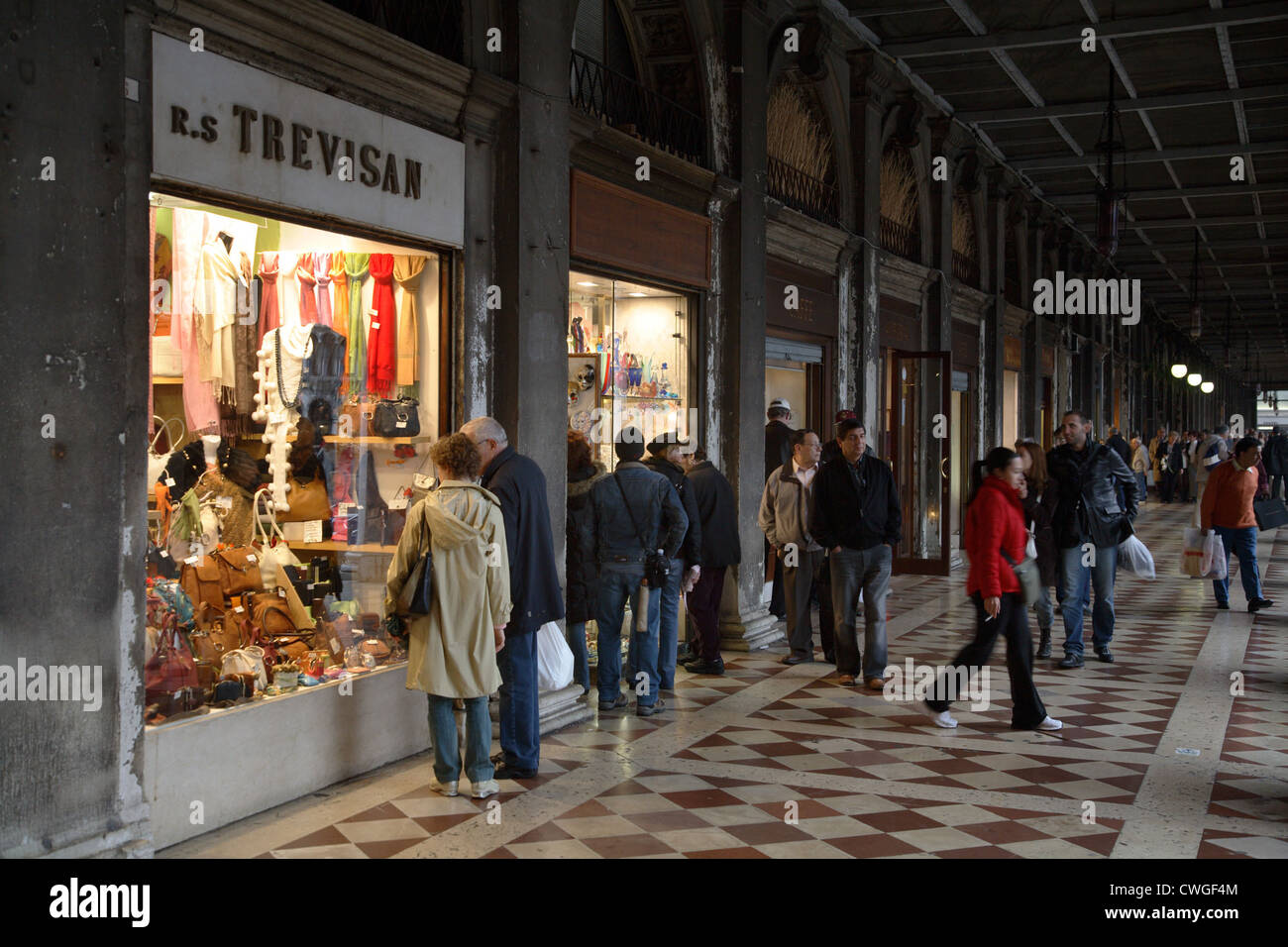 Venice, shops in Piazza San Marco Stock Photo: 50150260 - Alamy