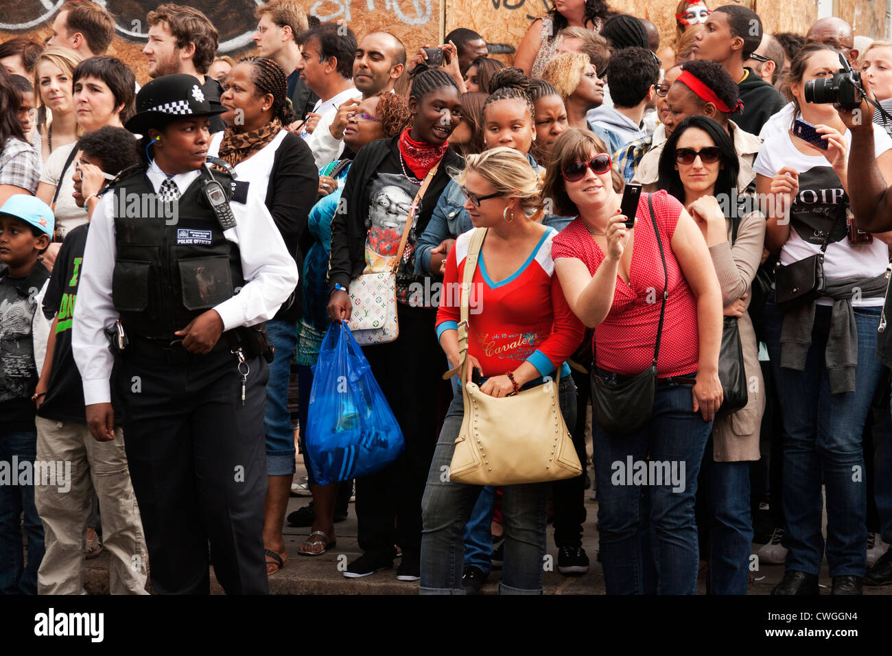 Notting Hill carnival 2012 - Stock Image