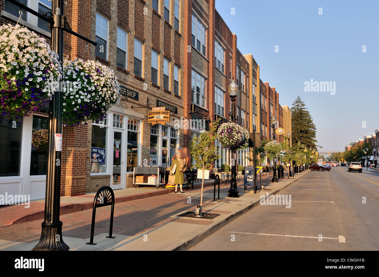 Carmel, Indiana, Arts and Design District - Stock Image