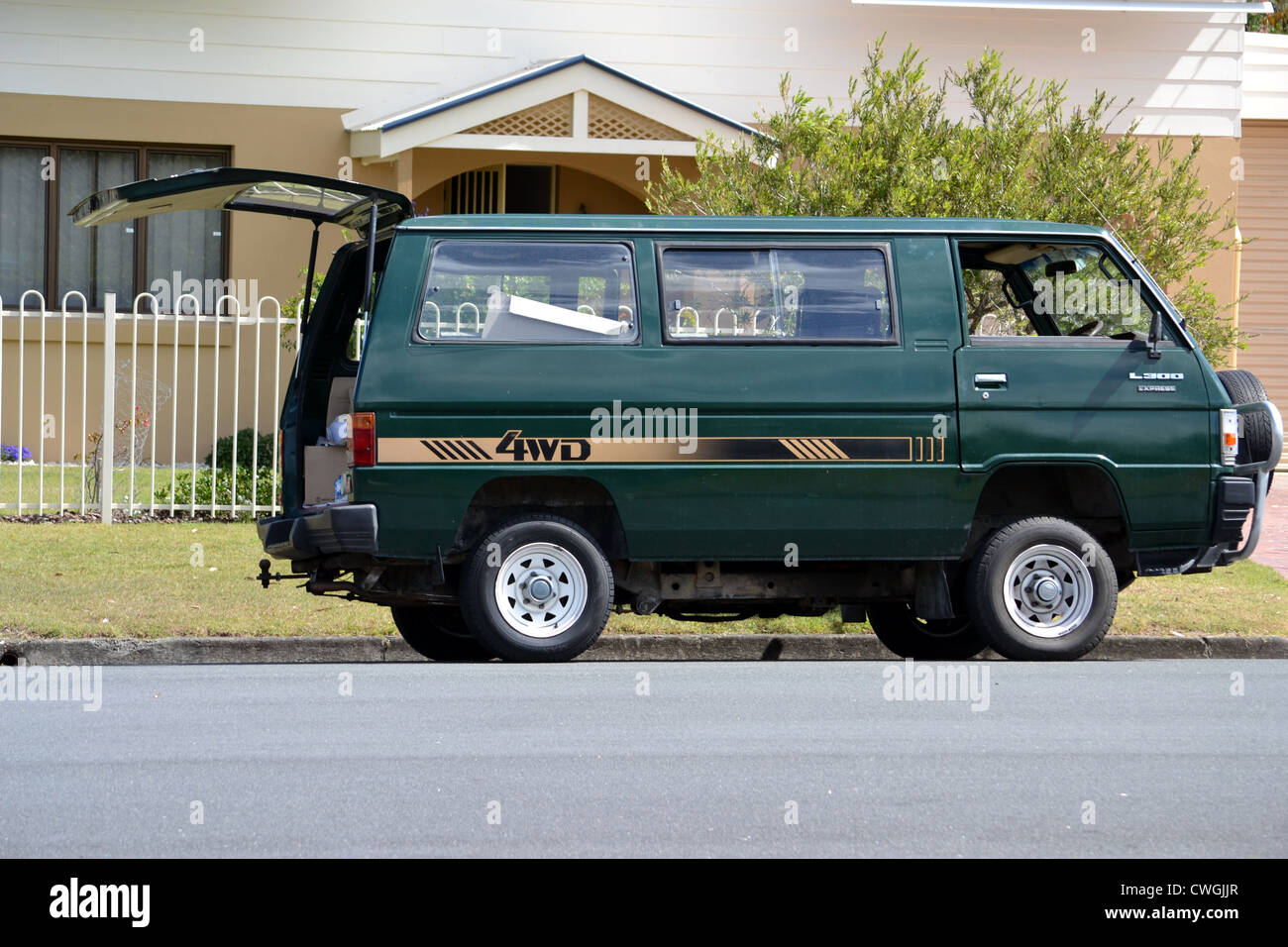 1985 Mitsubishi L300 Express Stock Photo: 50153007