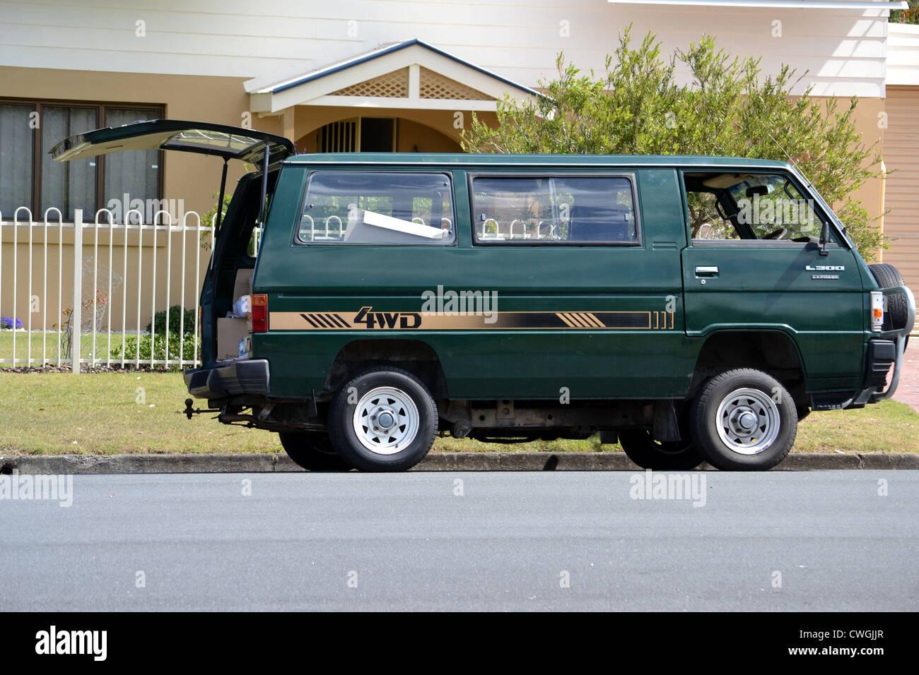 1985 Mitsubishi L300 Express Stock Photo: 50153007