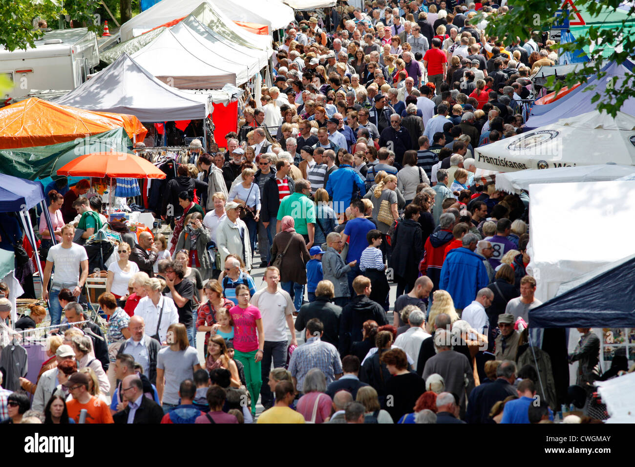 Large Flea Market for everybody, second hand market. Essen