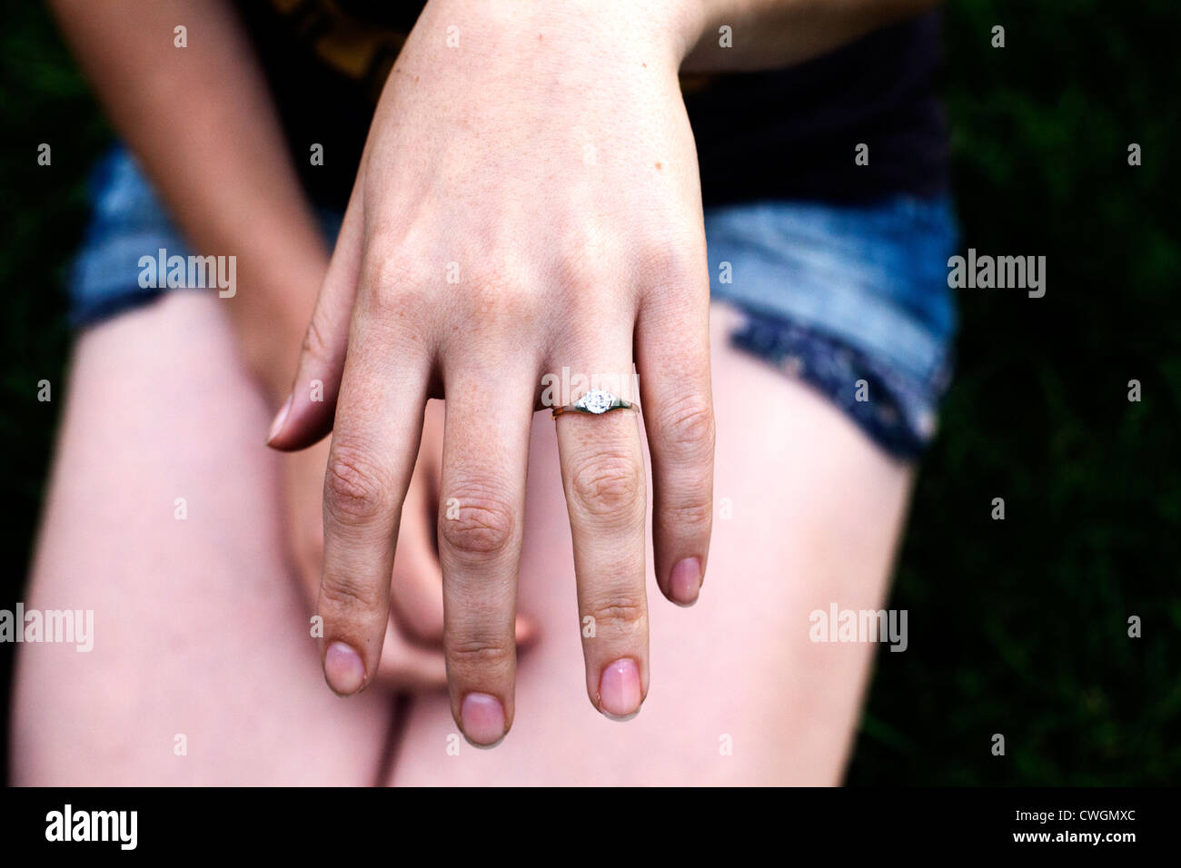 Engagement Ring New York Stock Photos & Engagement Ring New York ...